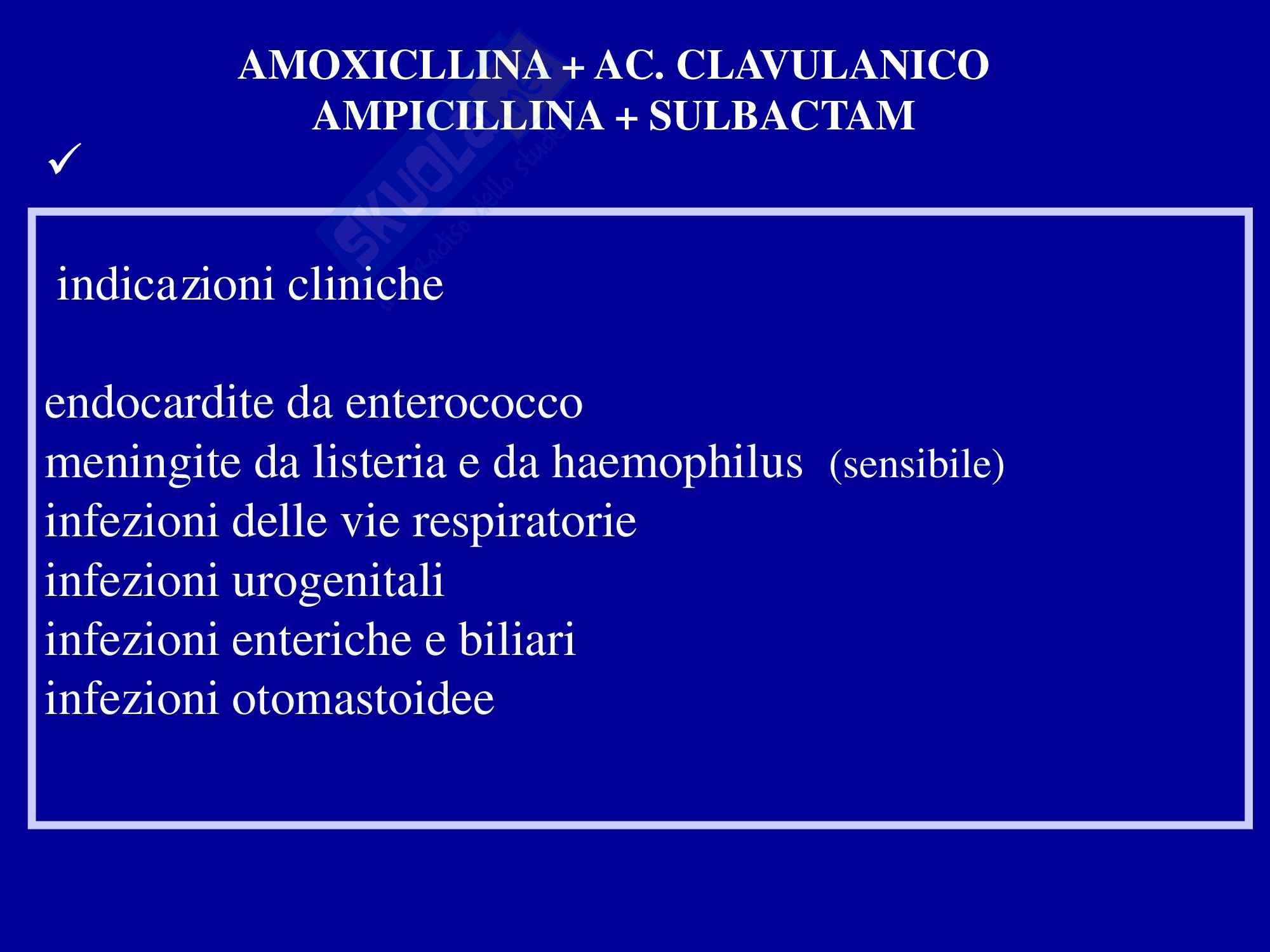 Farmaci betalattamici e aminoglicosidi Pag. 11