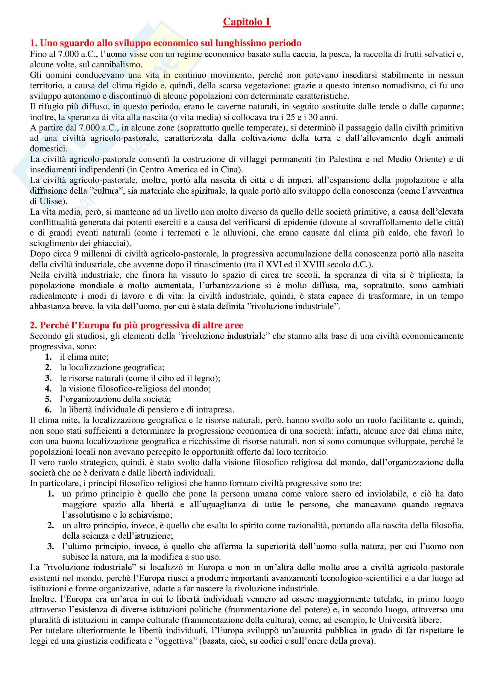 Storia economica - Appunti Pag. 2