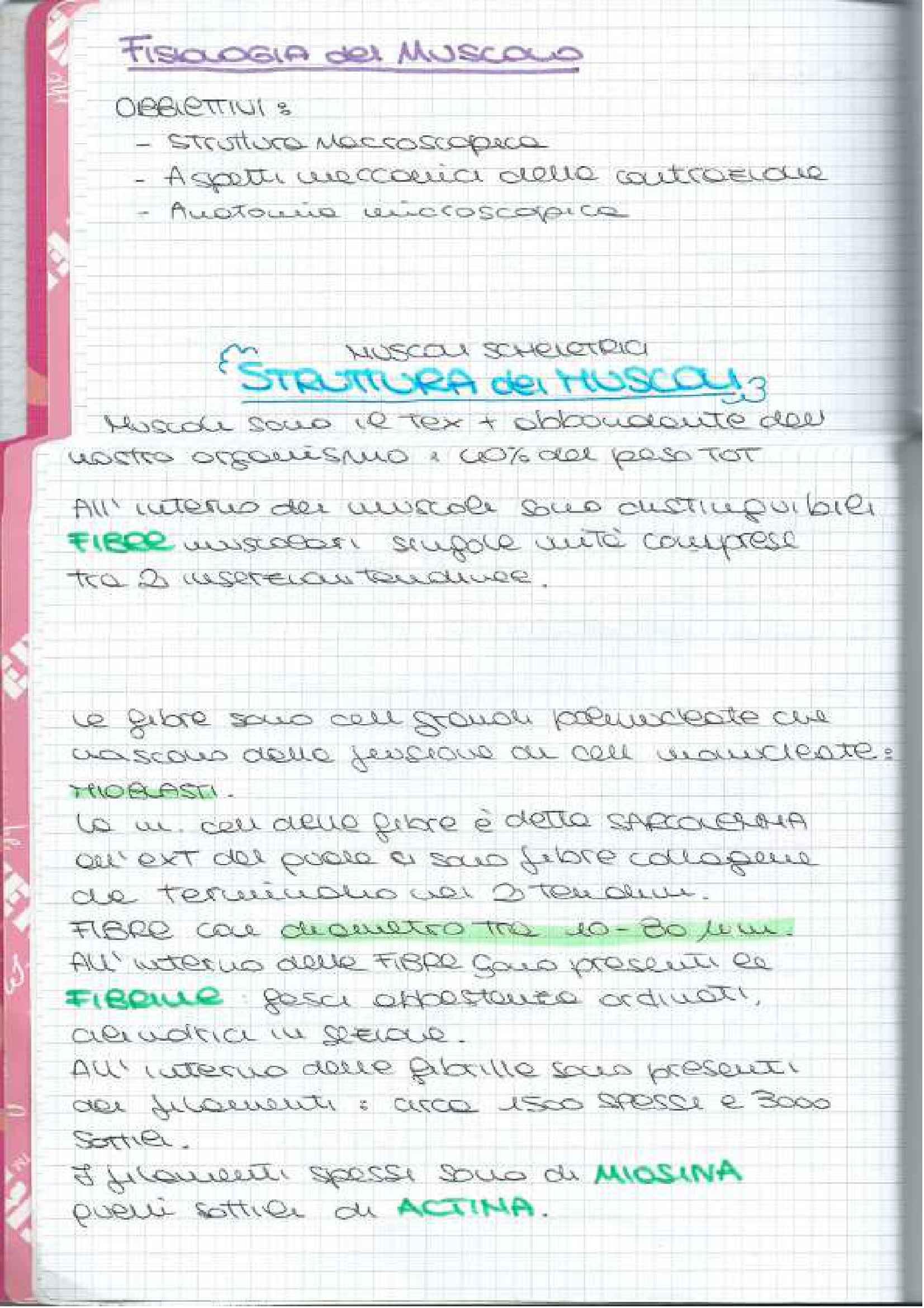 Fisiologia dei sistemi - Appunti Pag. 2