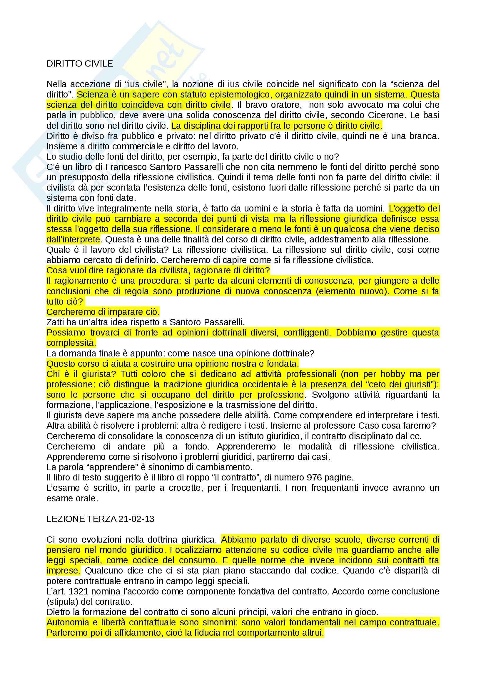 appunto G. Pascuzzi Diritto civile