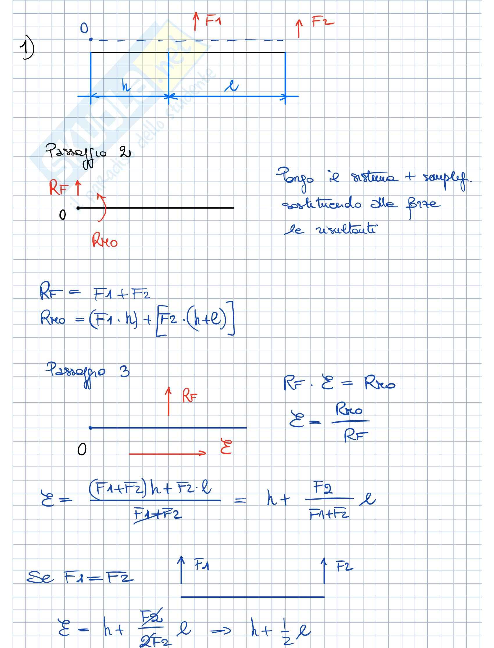 Esercitazioni Fondamenti Meccanica strutturale Parte 1