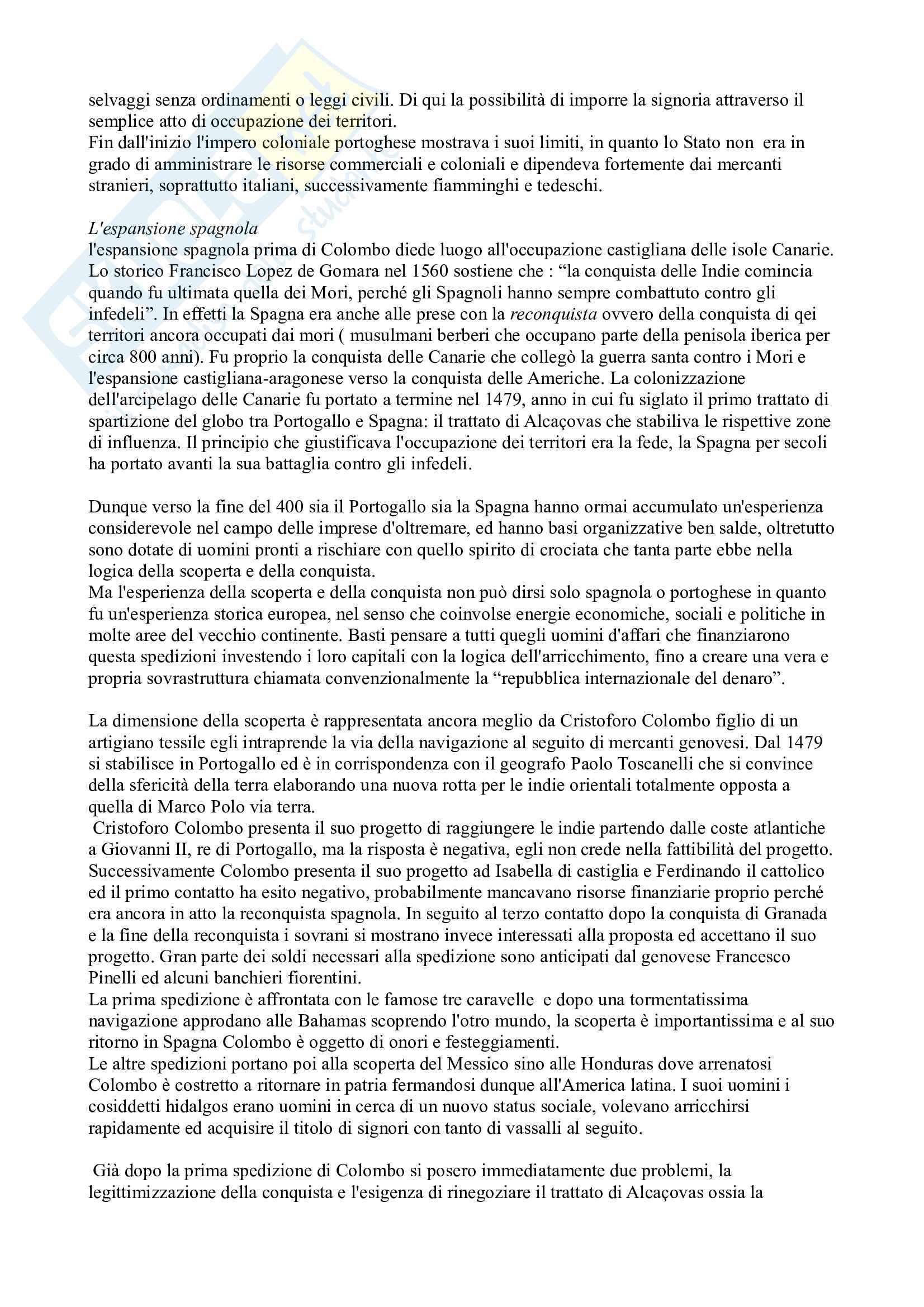 Riassunto esame Storia Moderna, prof. Campanelli, libro consigliato Le Vie della Modernità, Musi Pag. 2