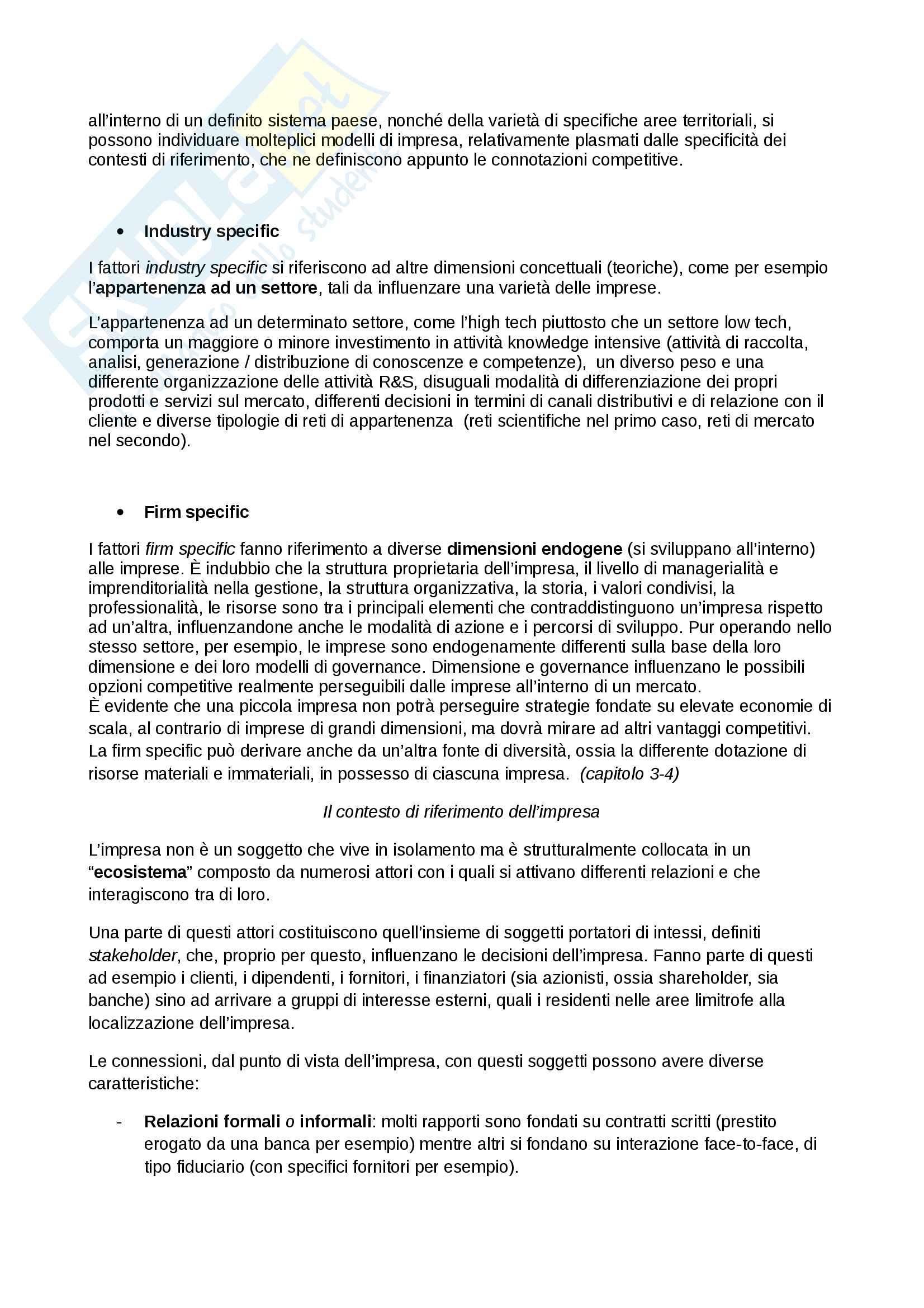 Management Primo parziale Economia prof Cuomo unimib Unisa Pag. 11