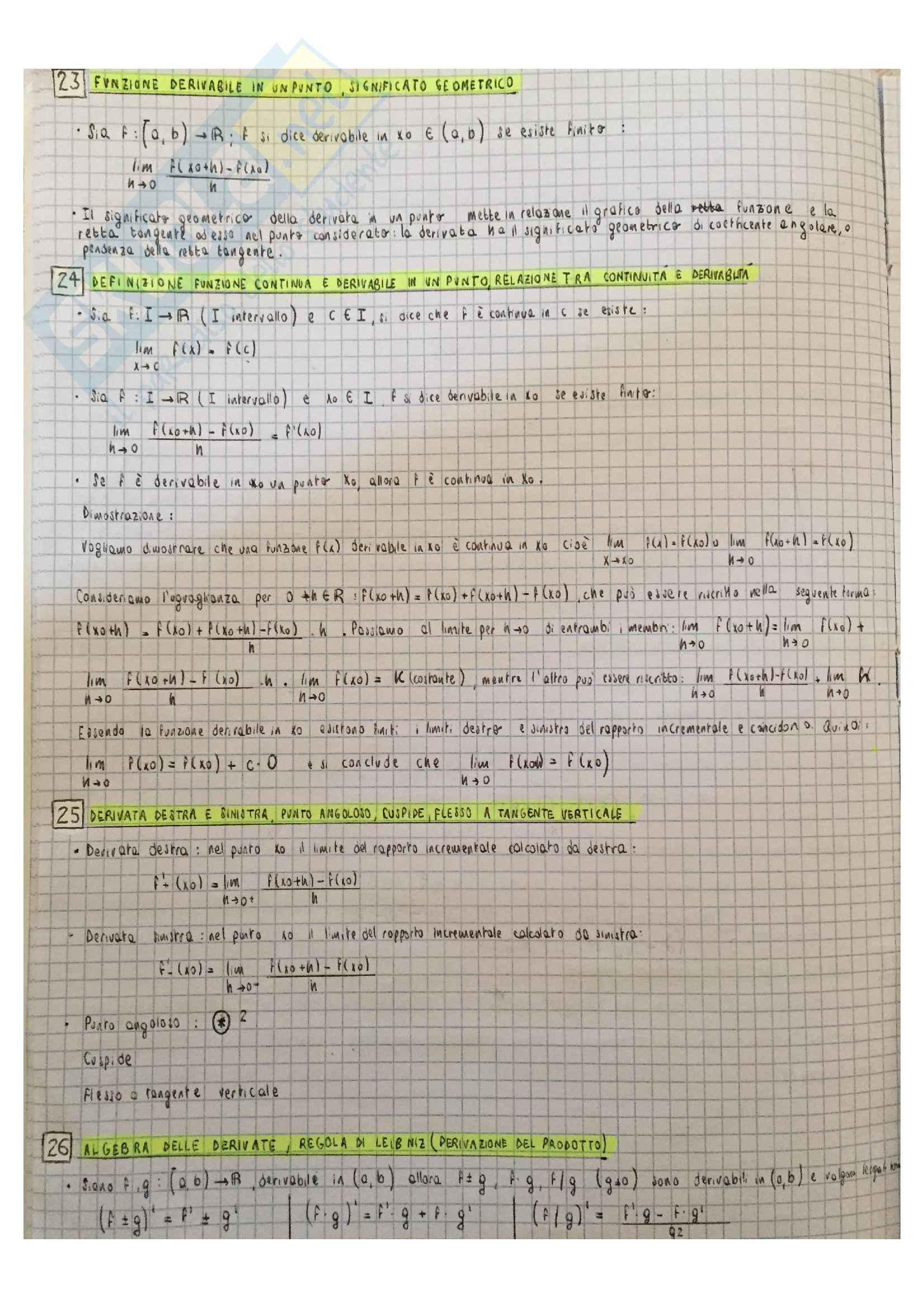 51 domande teoria Analisi 1 Pag. 11