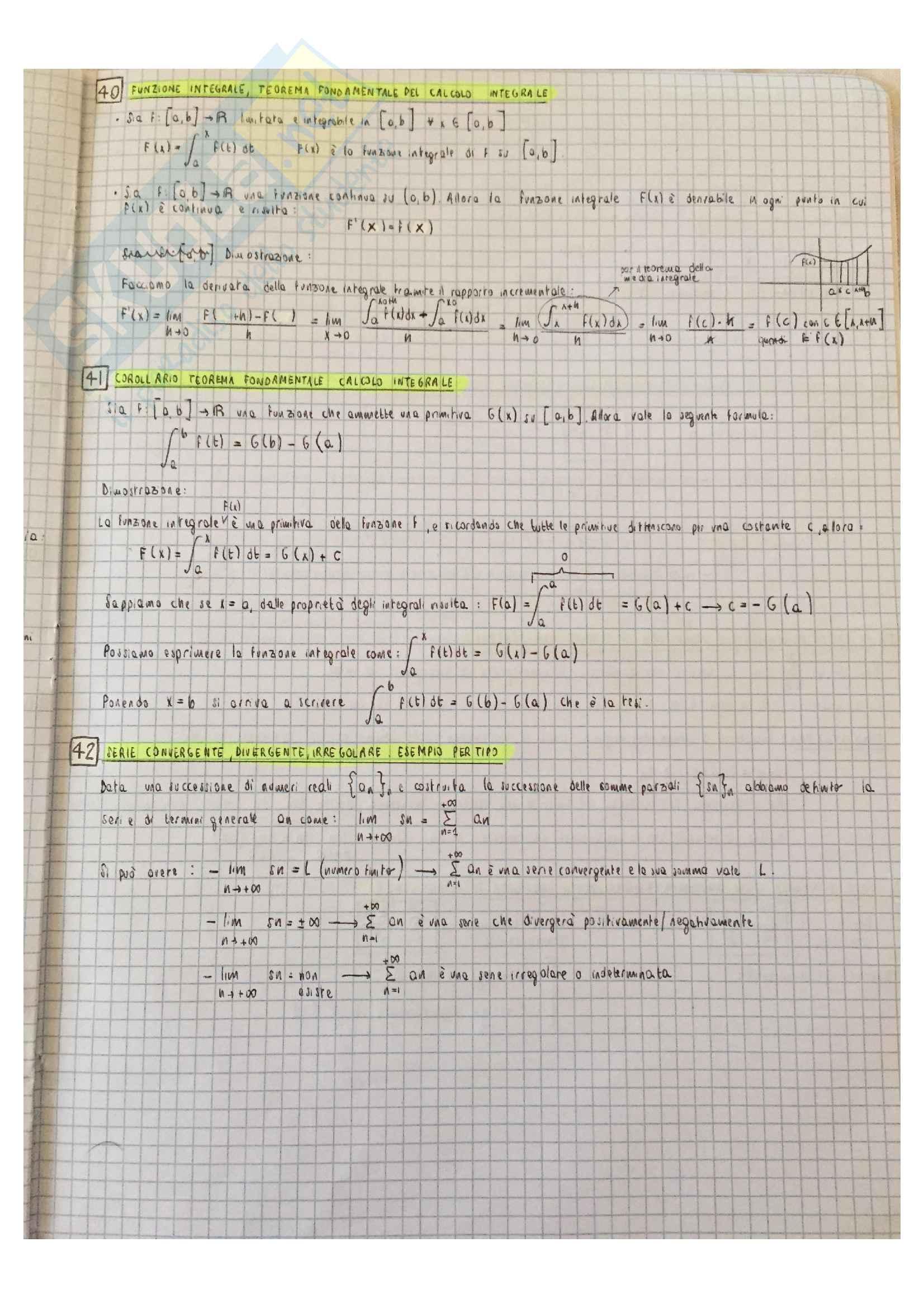 51 domande teoria Analisi 1 Pag. 16