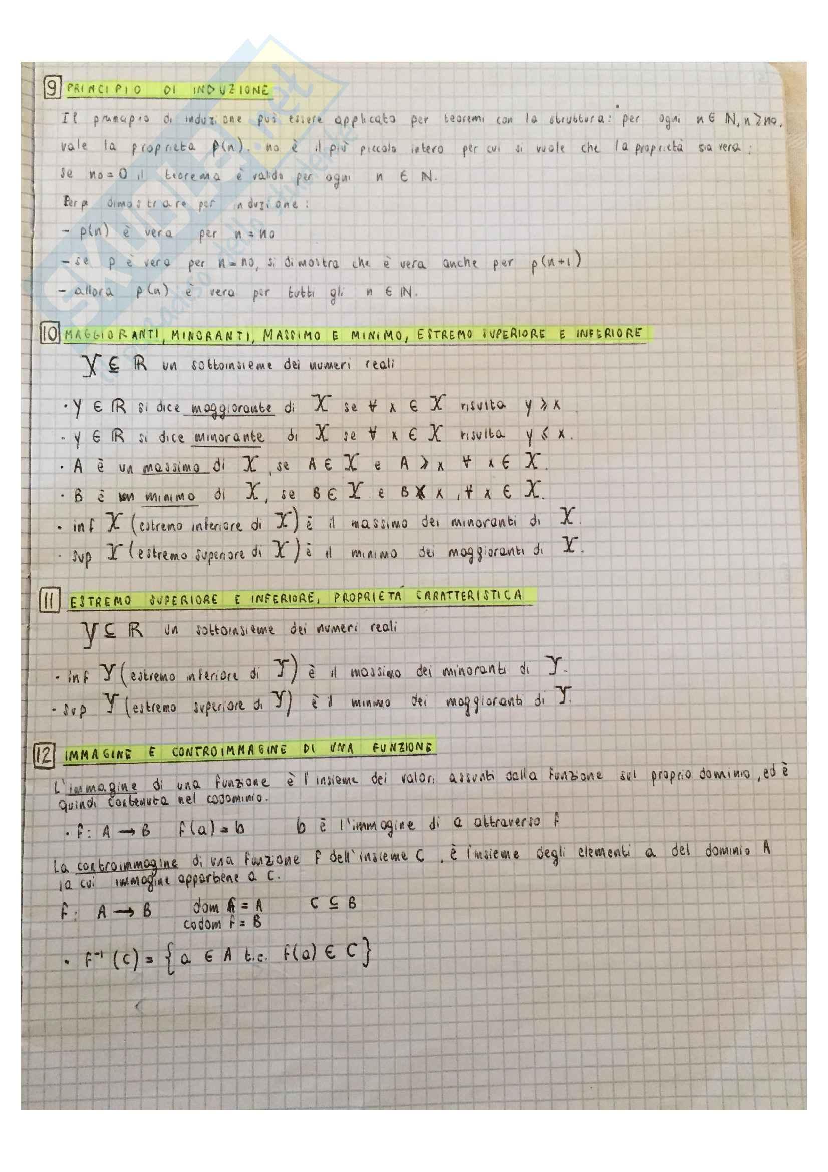 51 domande teoria Analisi 1 Pag. 6