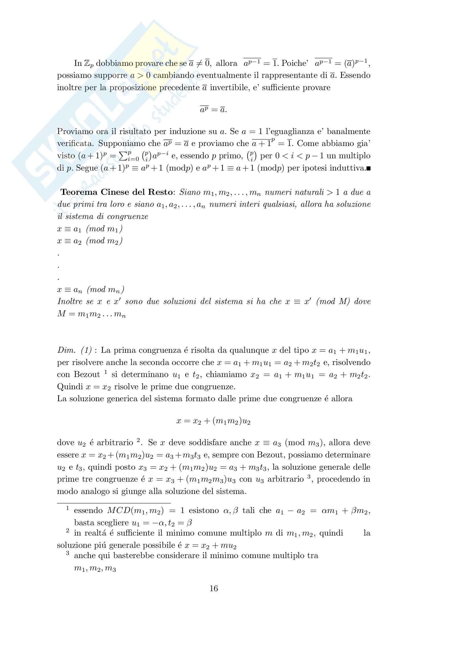 teoria degli insiemi Pag. 16