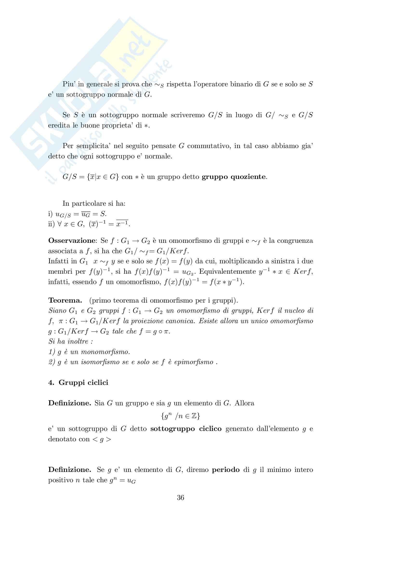 teoria degli insiemi Pag. 36