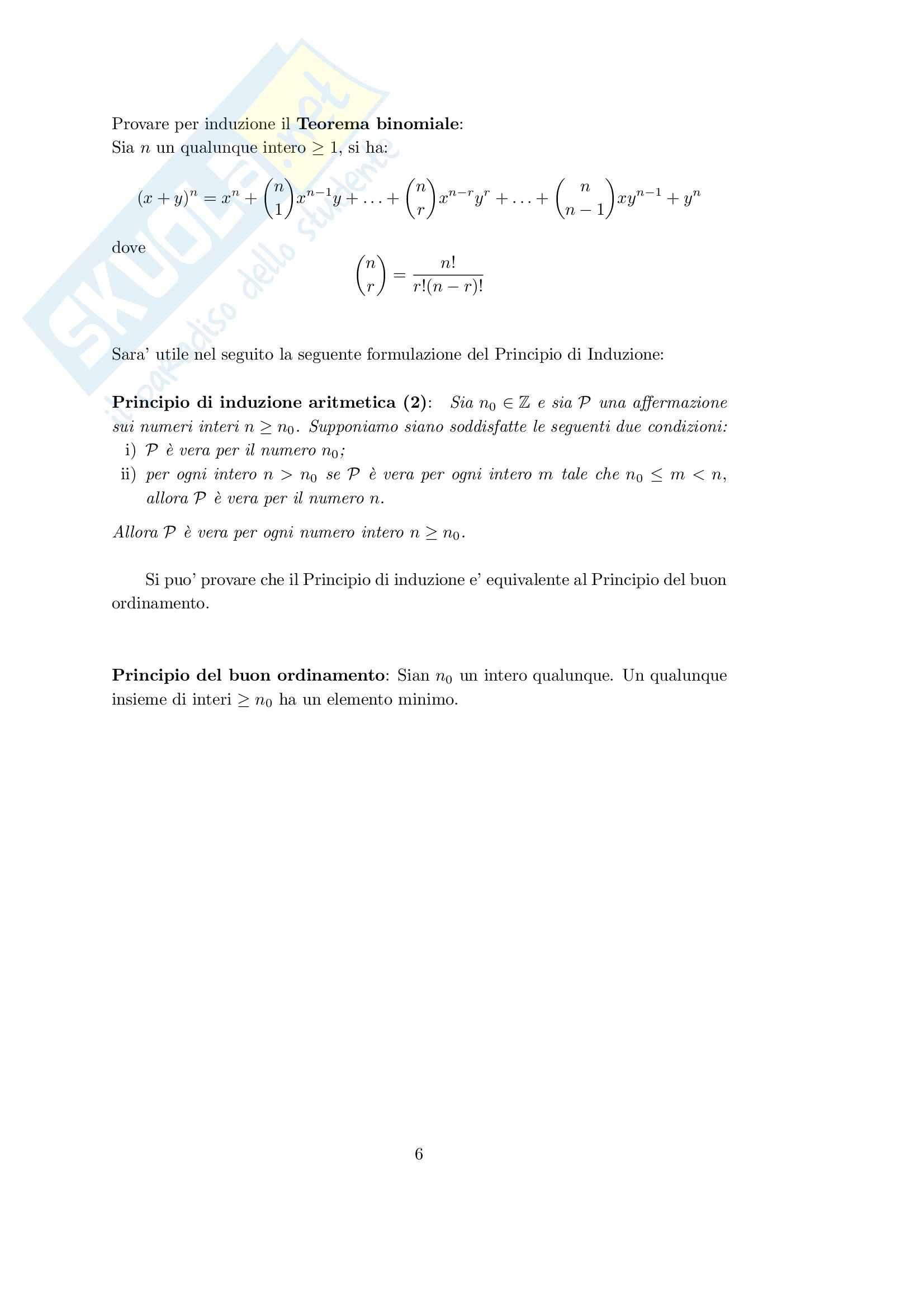 teoria degli insiemi Pag. 6