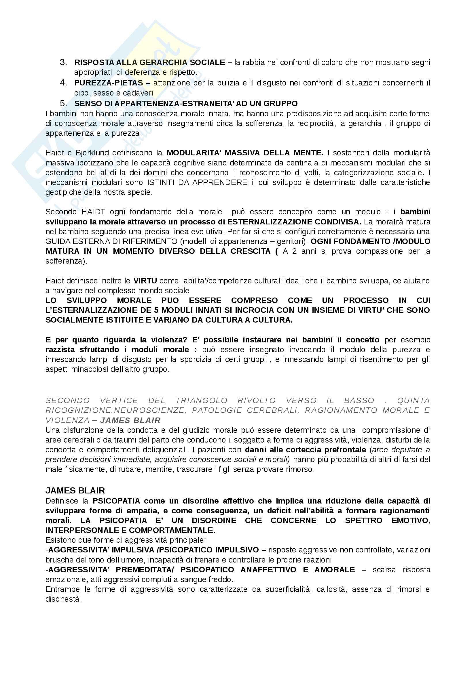 Riassunto esame Criminologia, docente, Cornelli libro consigliato Cosmologie violente, Adolfo Ceretti, Lorenzo Natali Pag. 2