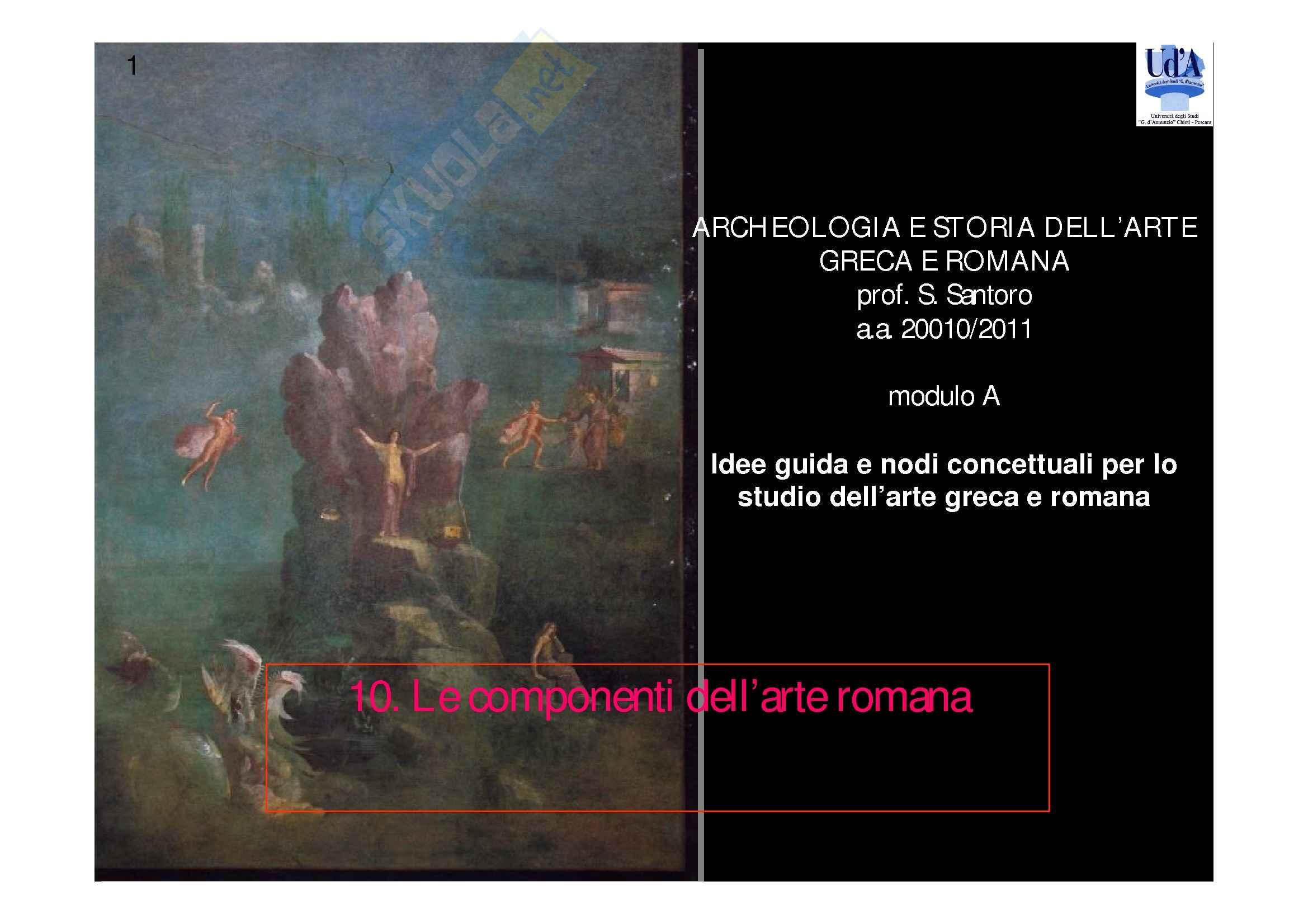 dispensa S. Santoro Archeologia e storia dell'arte greca e romana mod.A