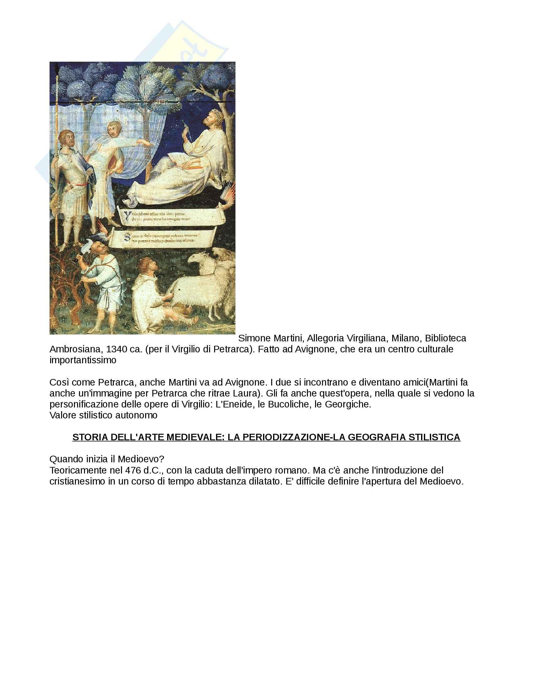 Arte medievale Pag. 16