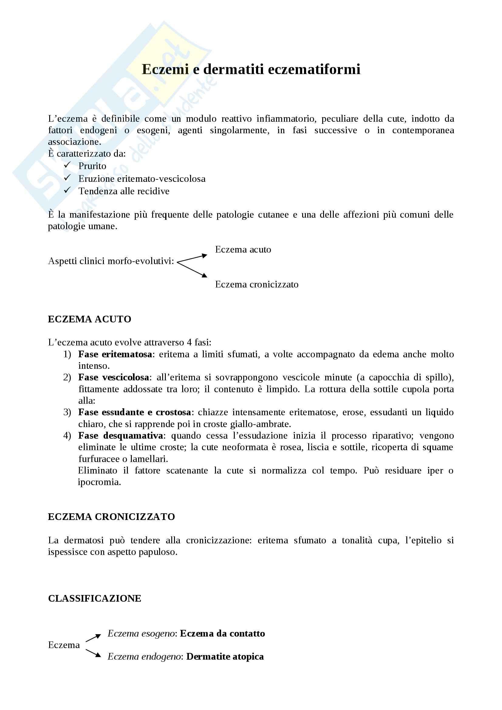 appunto P. Savoia Dermatologia
