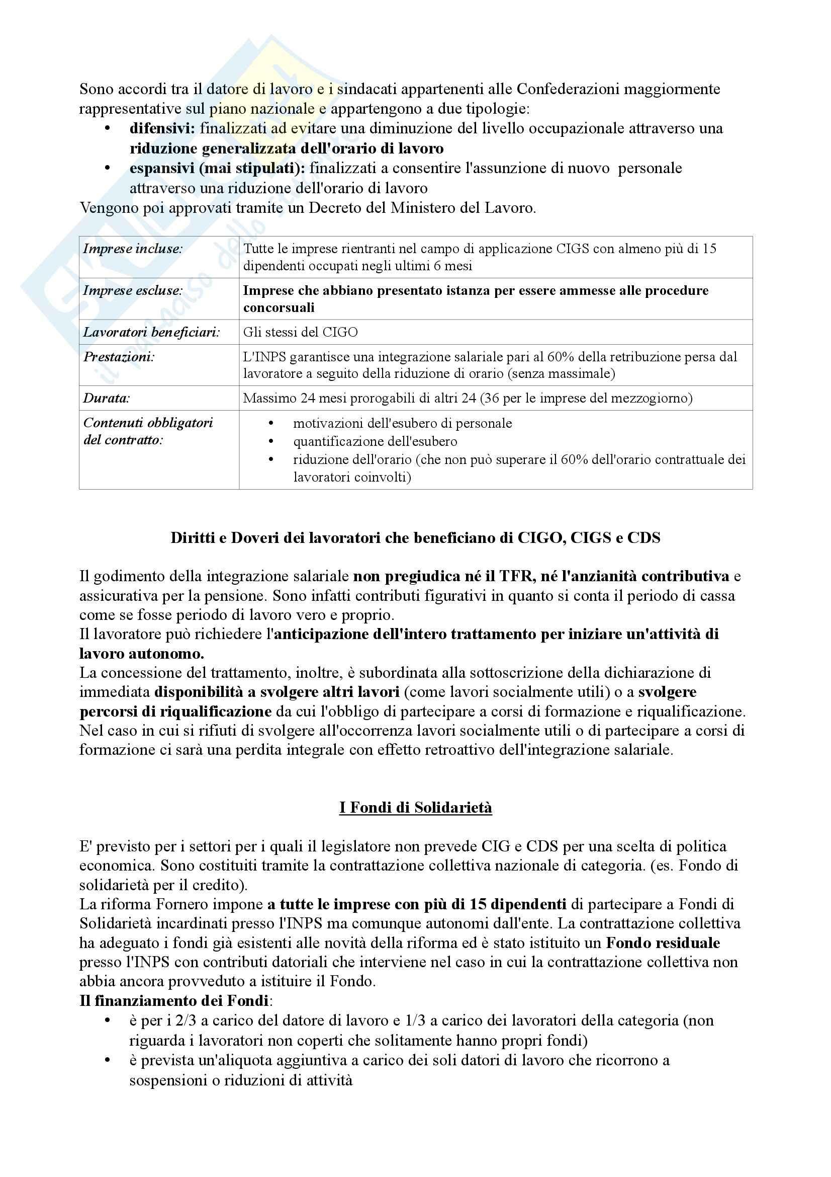 Diritto del lavoro - Appunti Pag. 61