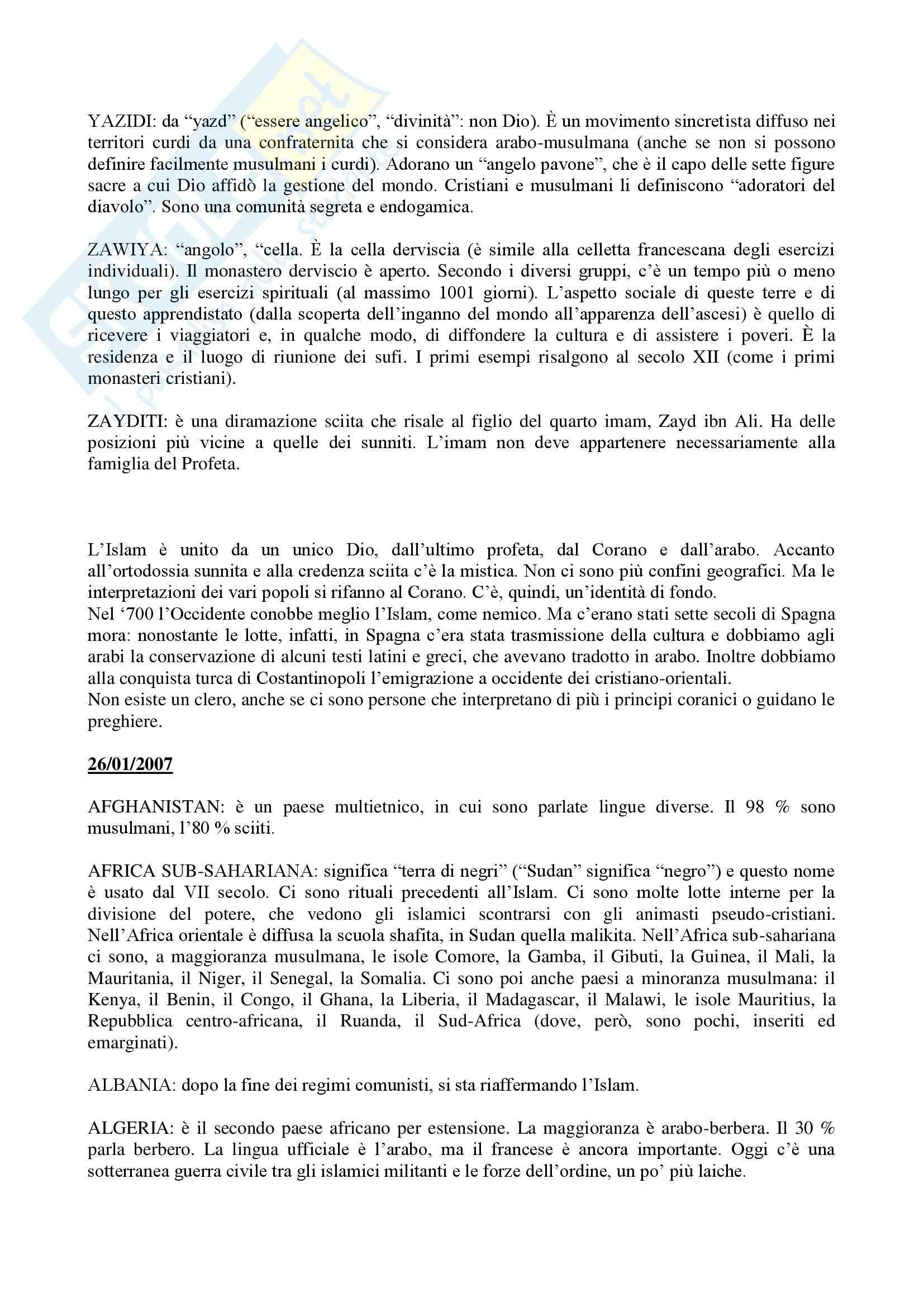 Storia dei Paesi islamici - Appunti Pag. 26
