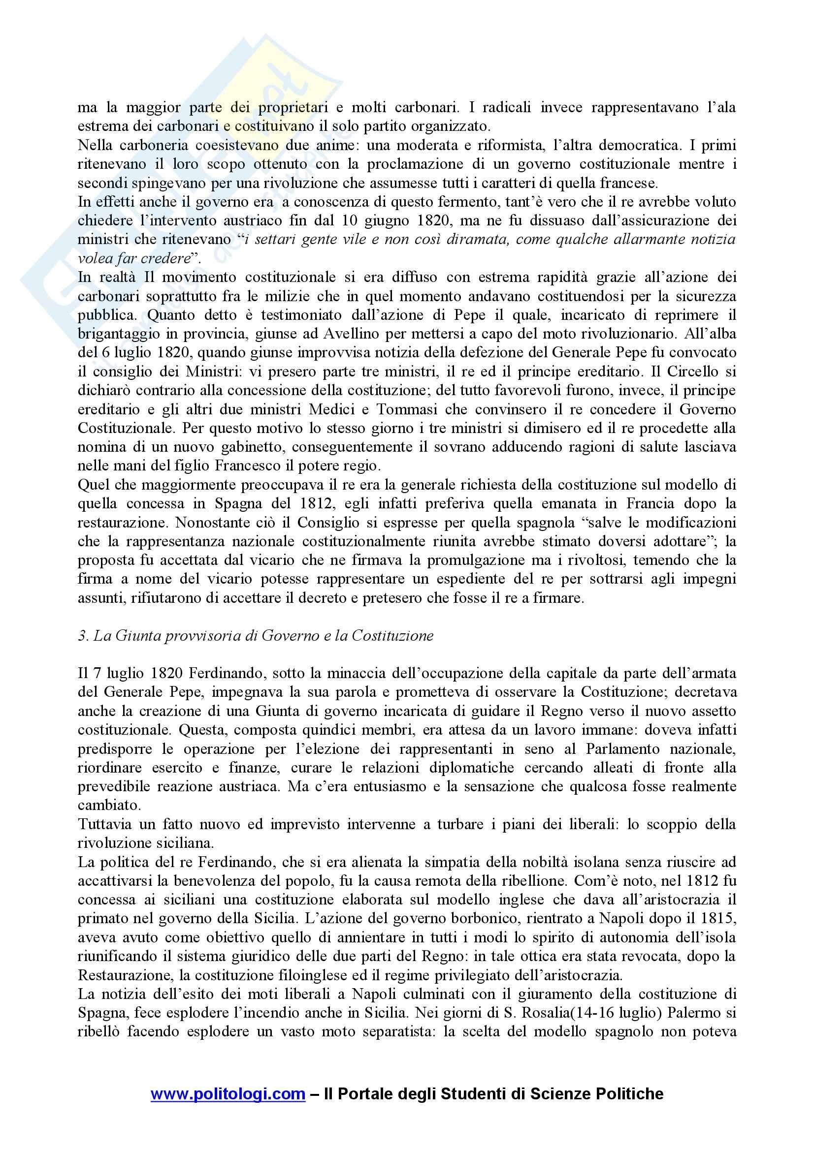 Storia contemporanea Pag. 21
