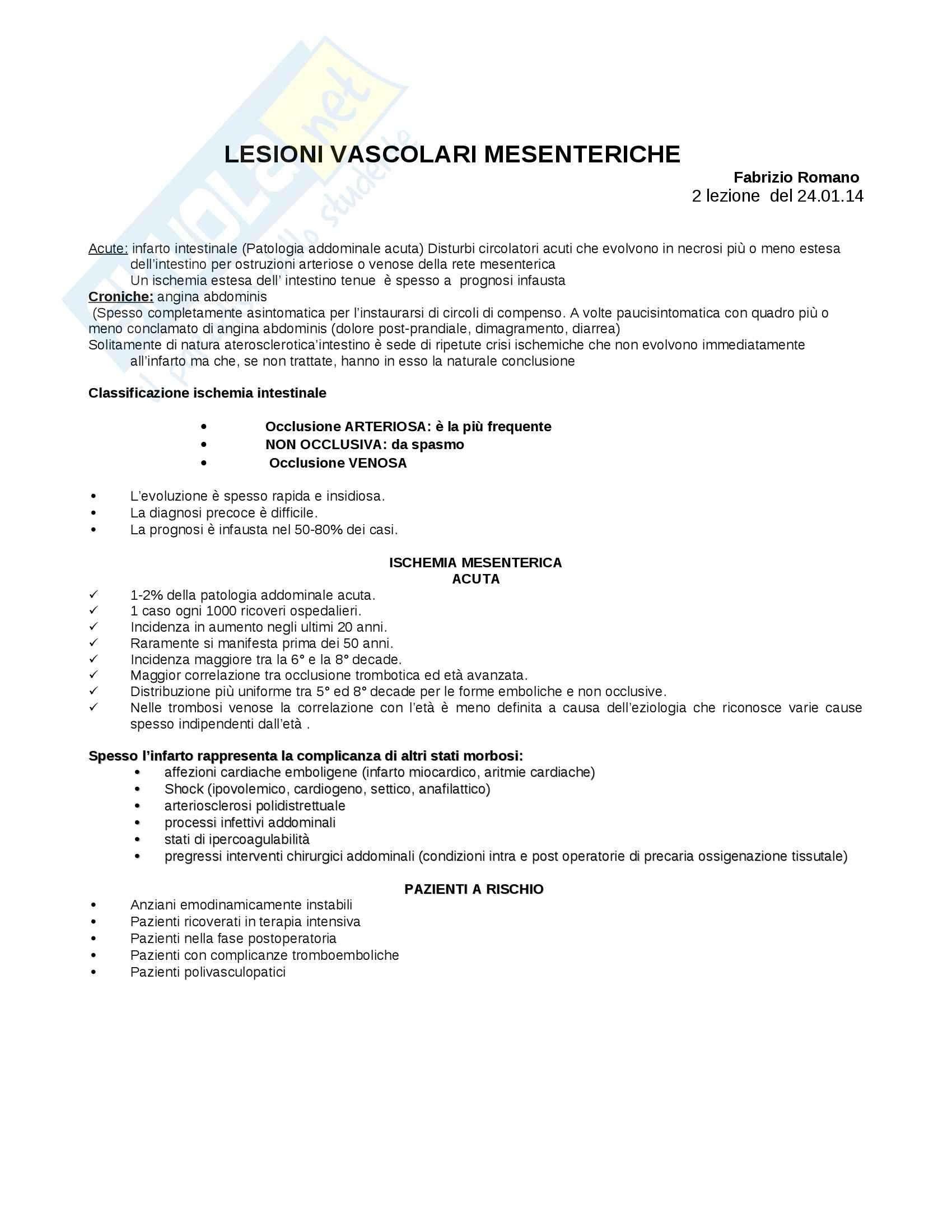 Infarto intestinale, Infermieristica clinica in area critica