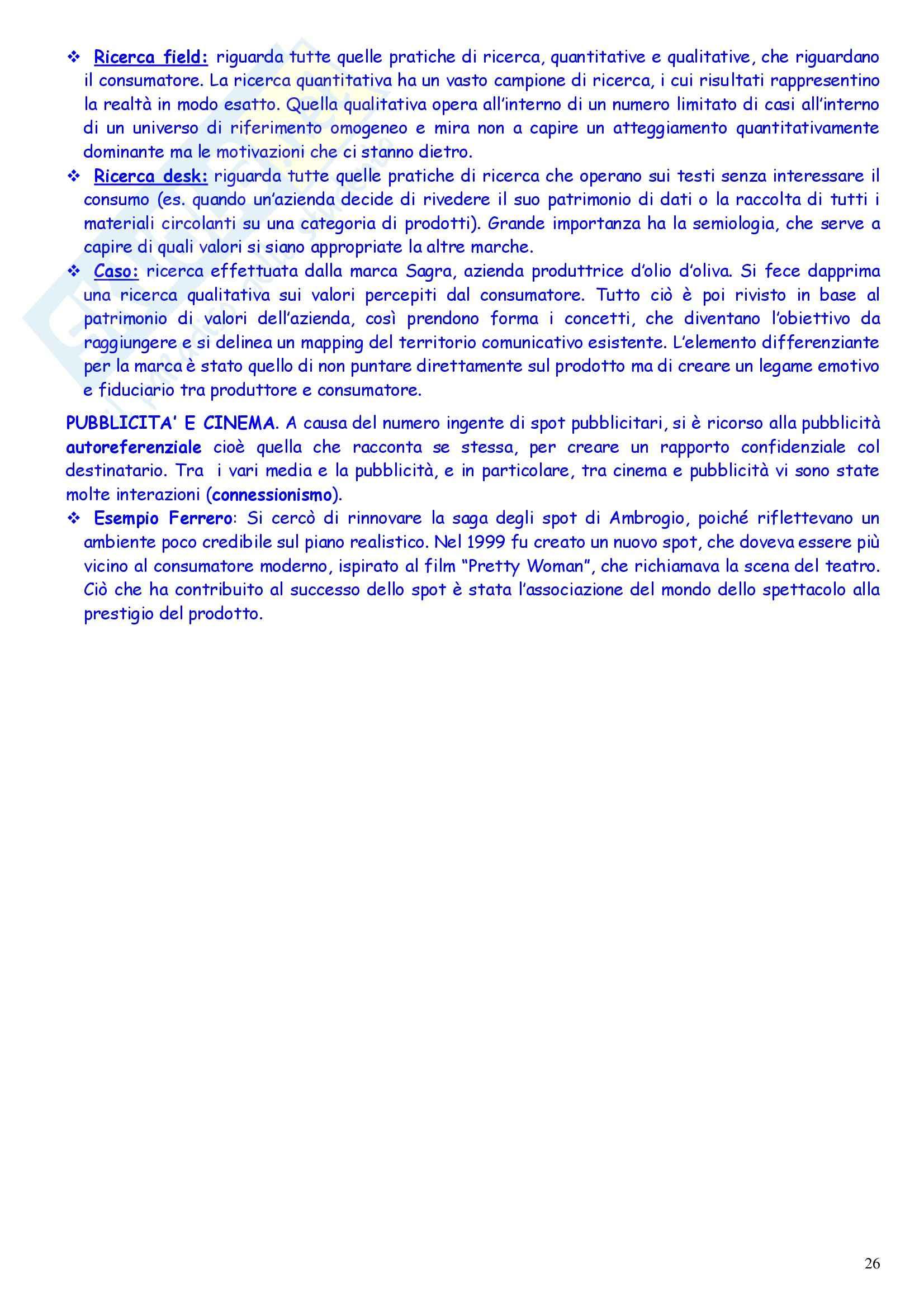 Teoria e tecnica delle comunicazioni di massa - Appunti Pag. 26