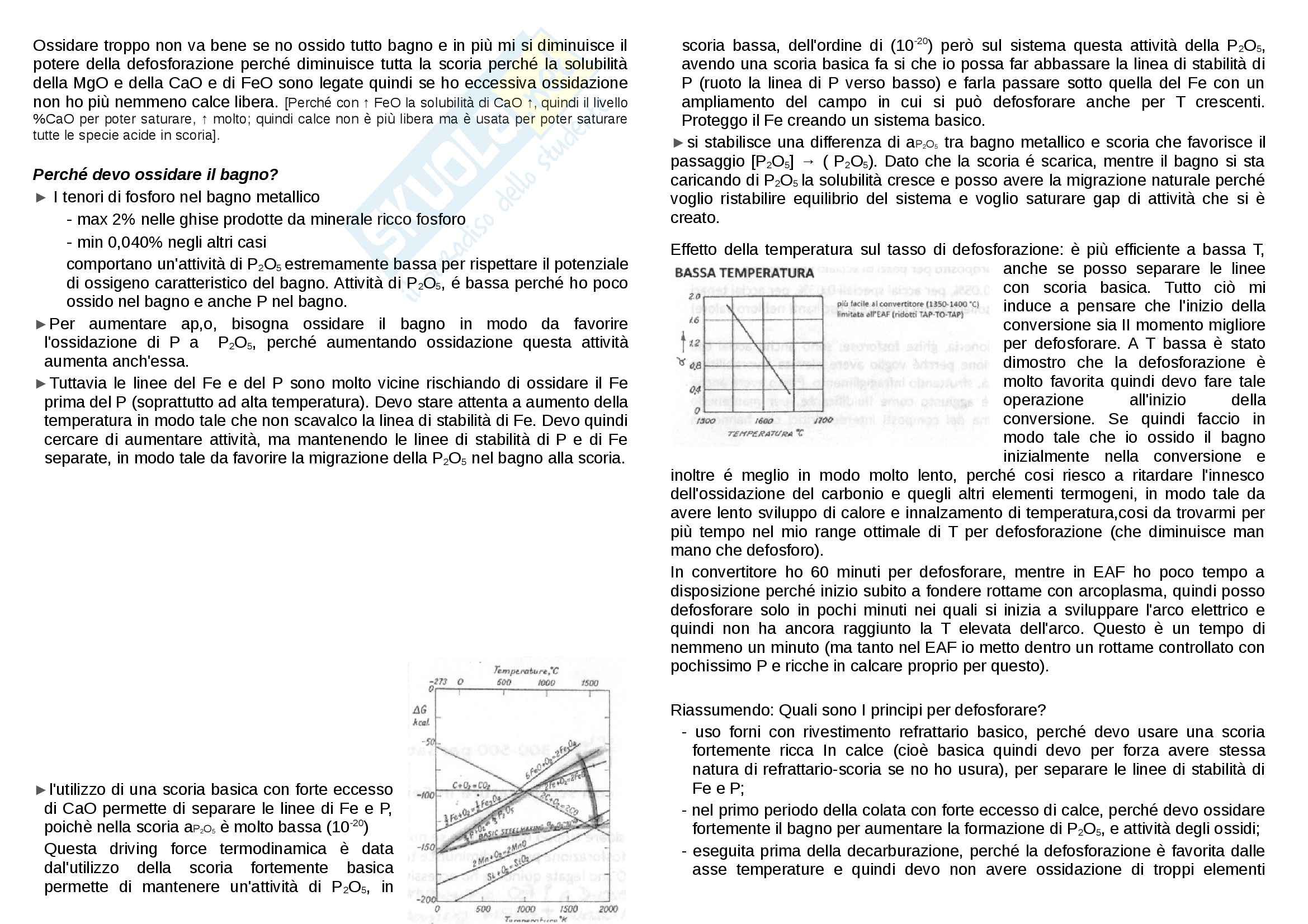 Defosforazione e Desolforazione Pag. 2
