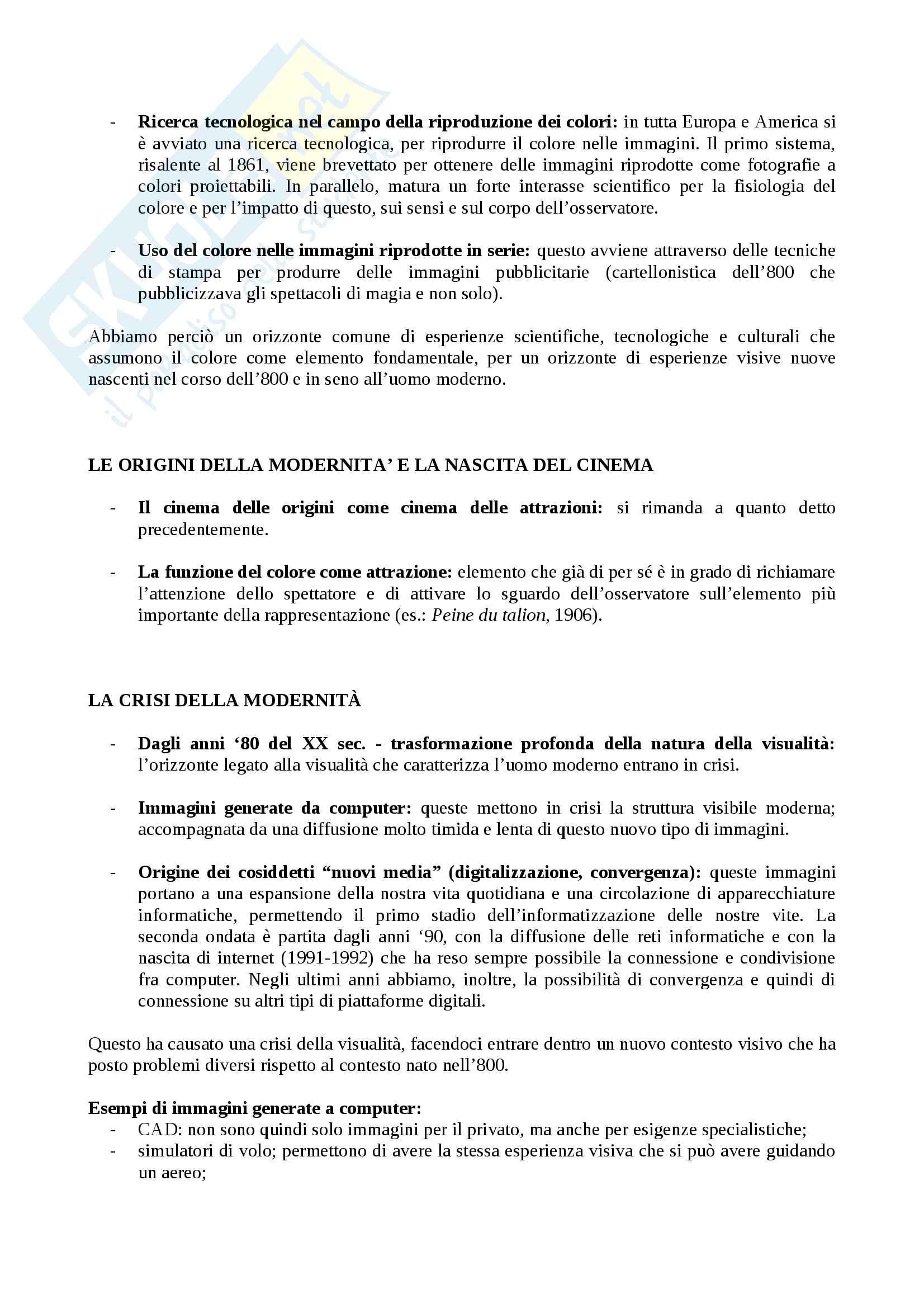 Appunti di Forme del cinema moderno e contemporaneo primo e secondo modulo Pag. 16