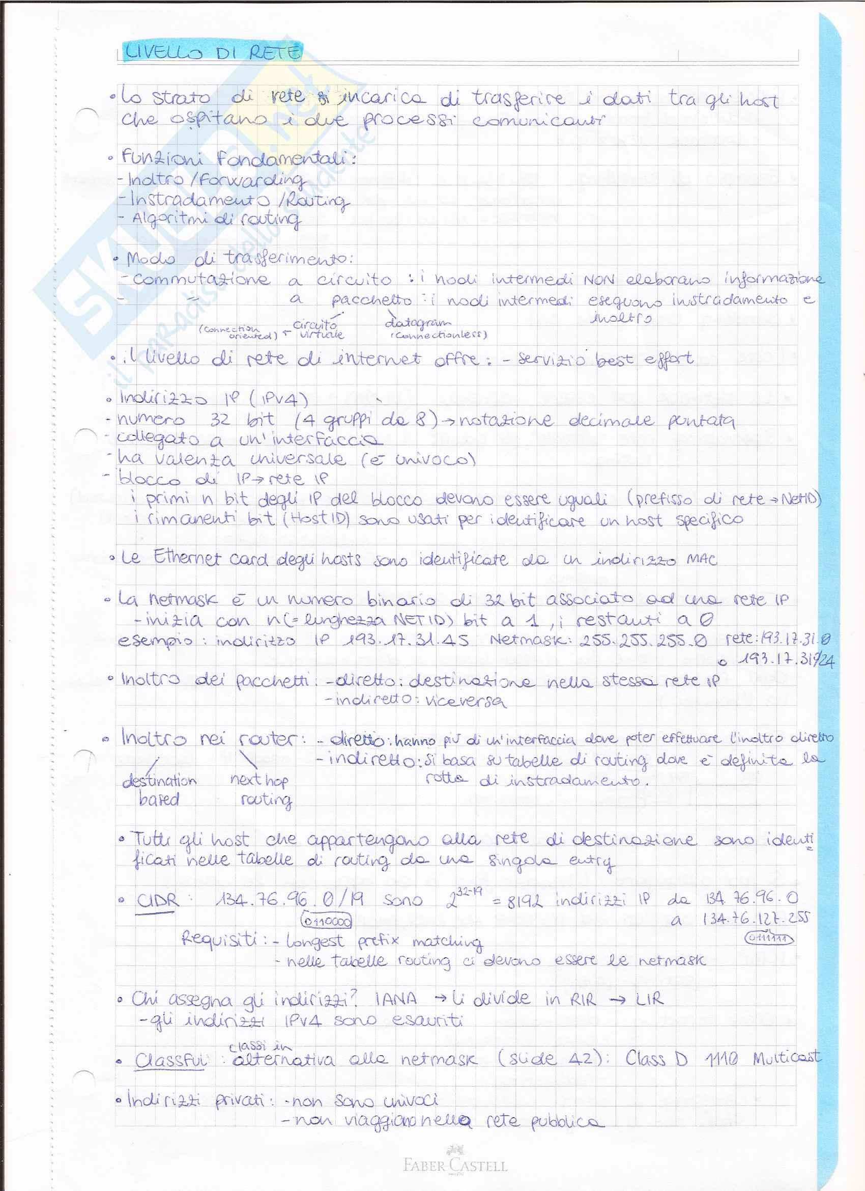 Appunti internet e reti Pag. 6