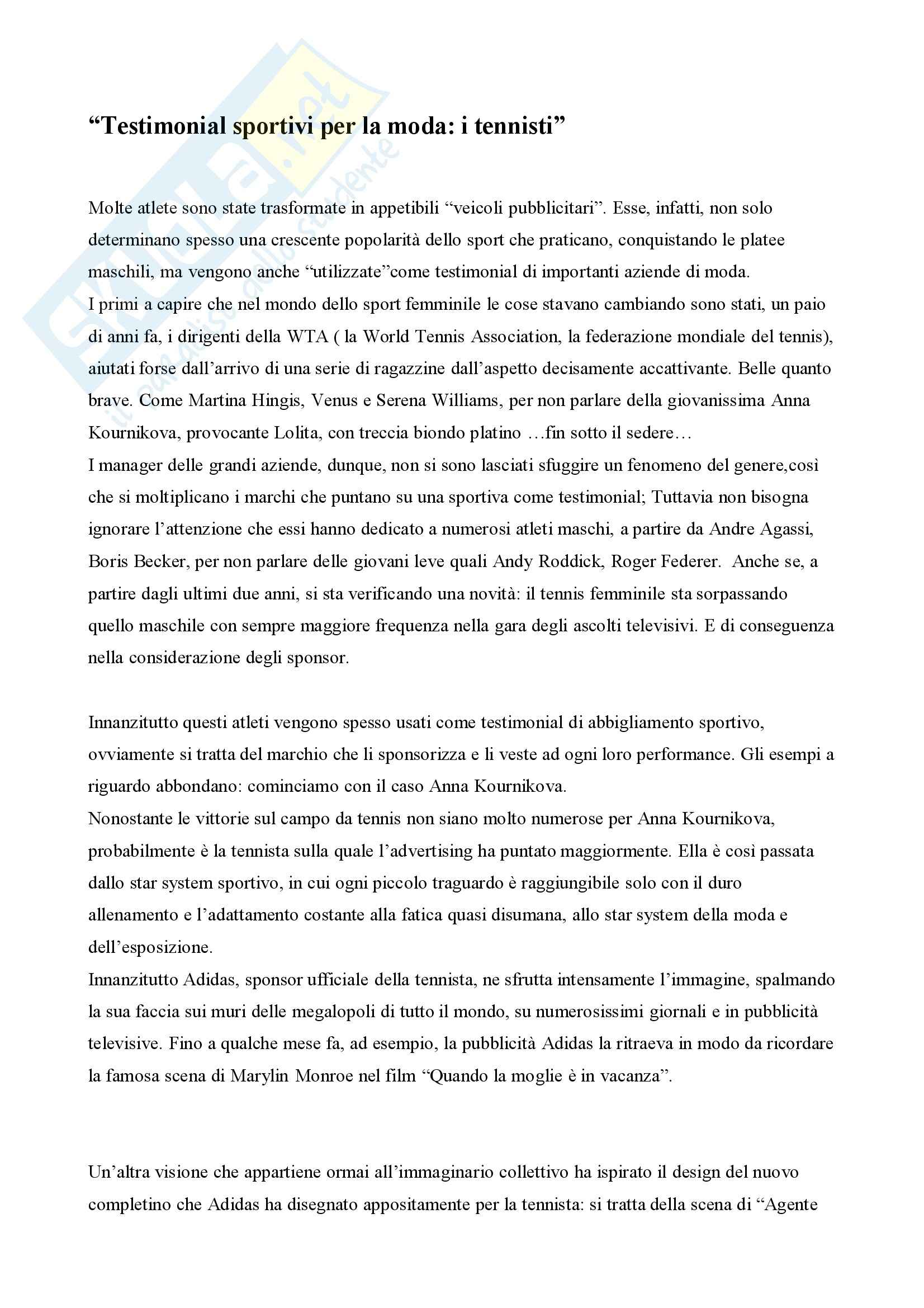 Sociologia dei prodotti culturali - Tesina Pag. 2