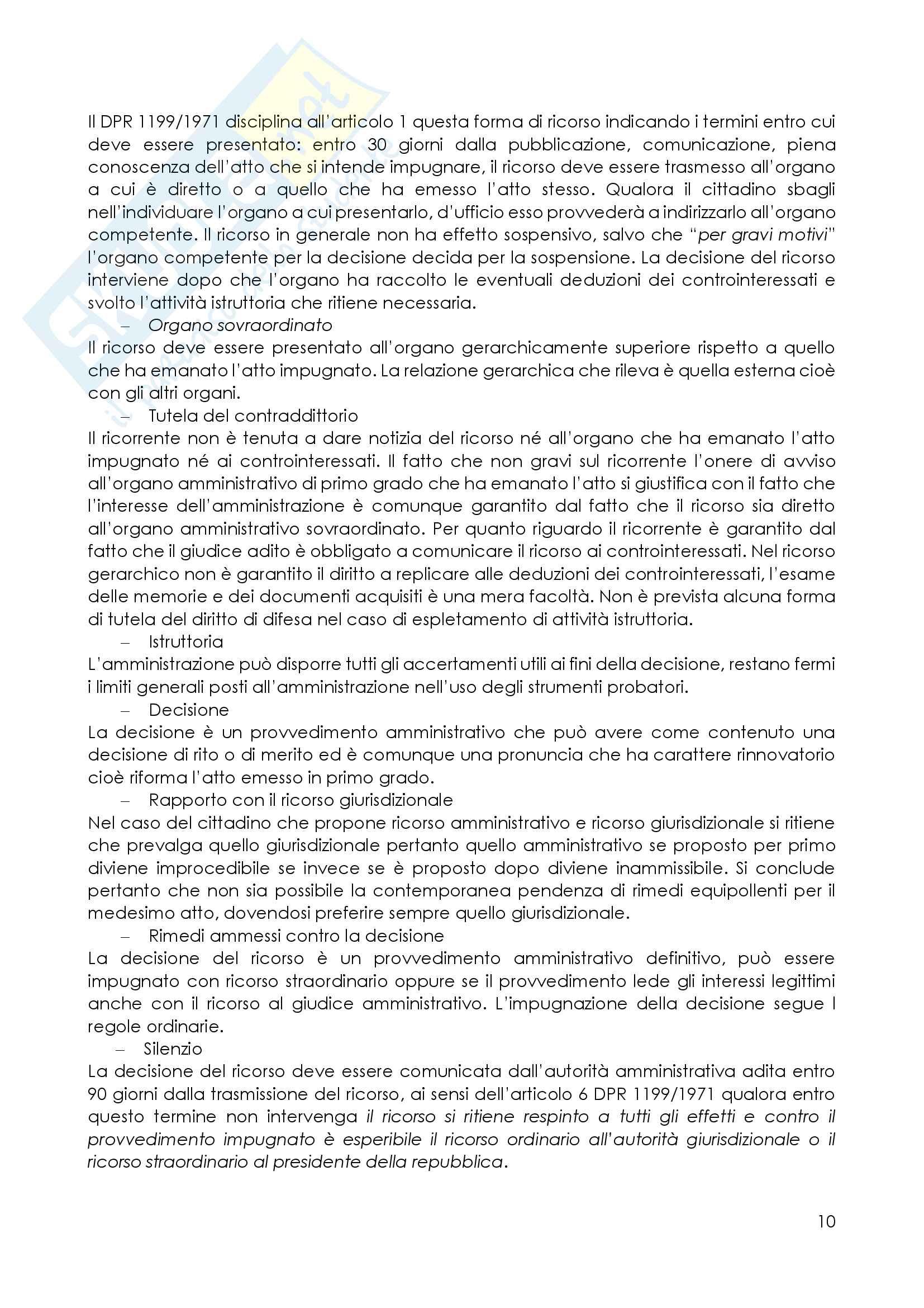 Il processo amministrativo Pag. 11