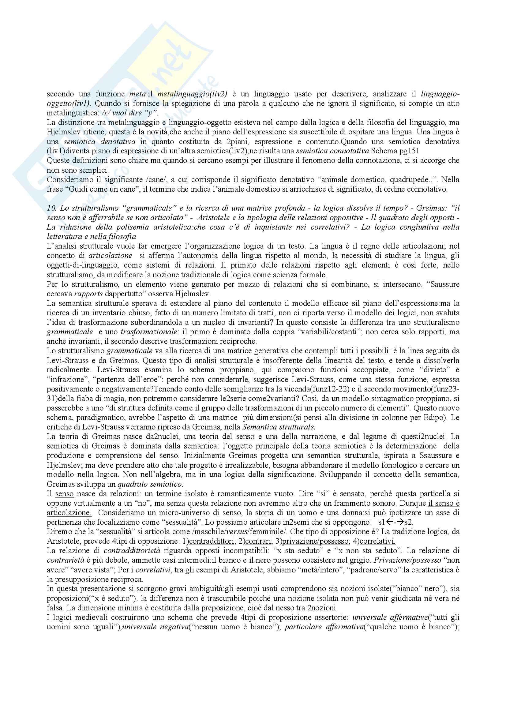 Riassunto esame teoria della letteratura, docente Bova, libro consigliato Che cos'è la teoria della letteratura, Bottiroli Pag. 26