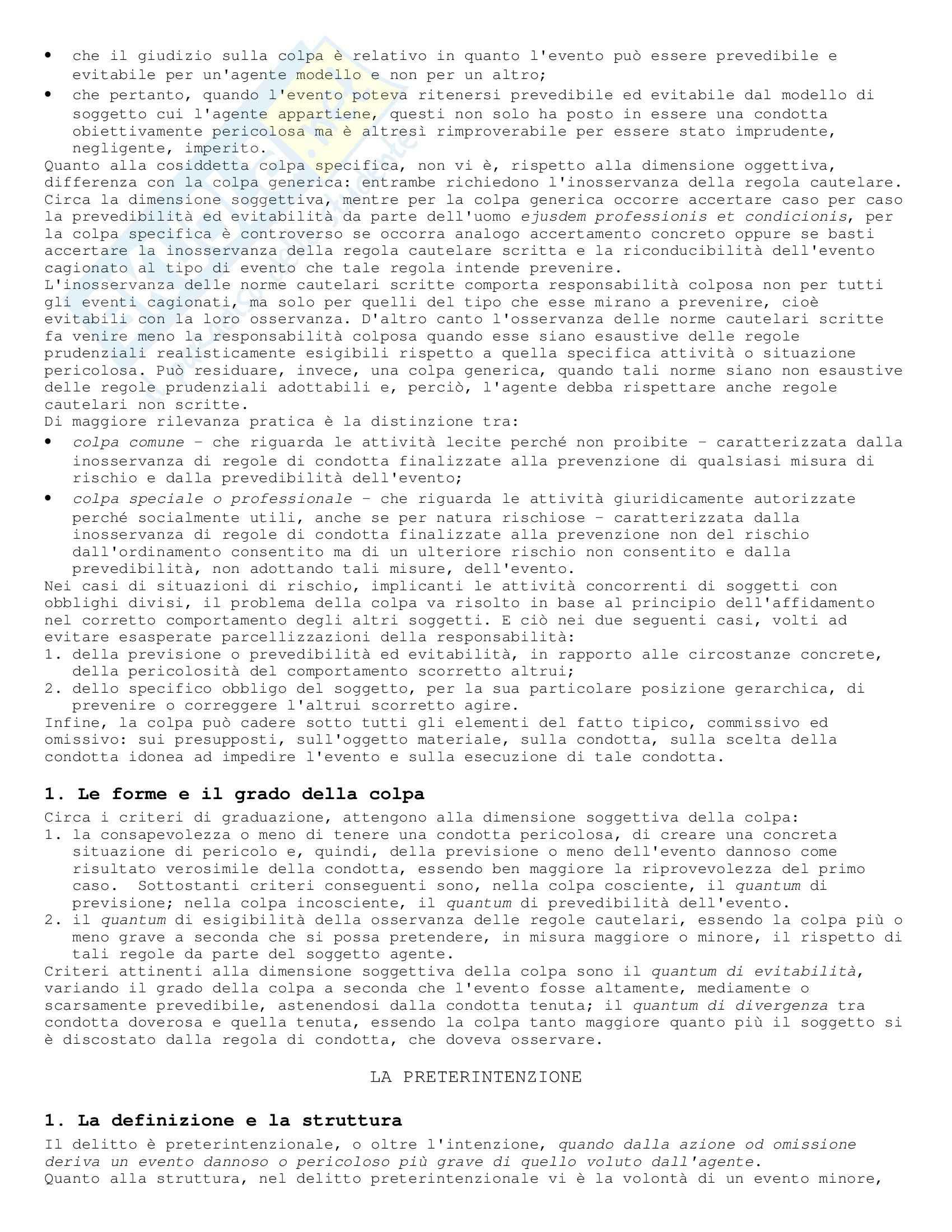 Diritto penale - Riassunto esame Pag. 36