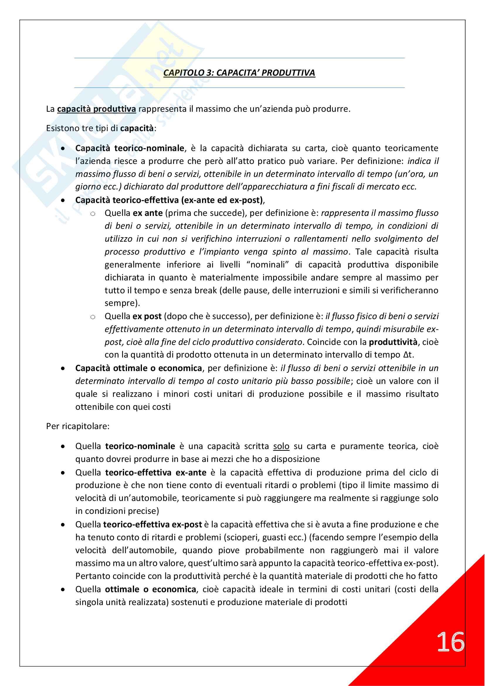 Economia e Gestione delle Imprese - 2° Anno Scienze Motorie Pag. 16