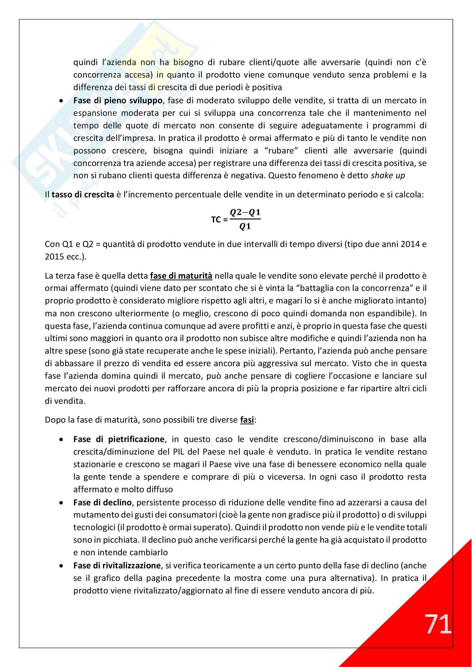 Economia e Gestione delle Imprese - 2° Anno Scienze Motorie Pag. 71