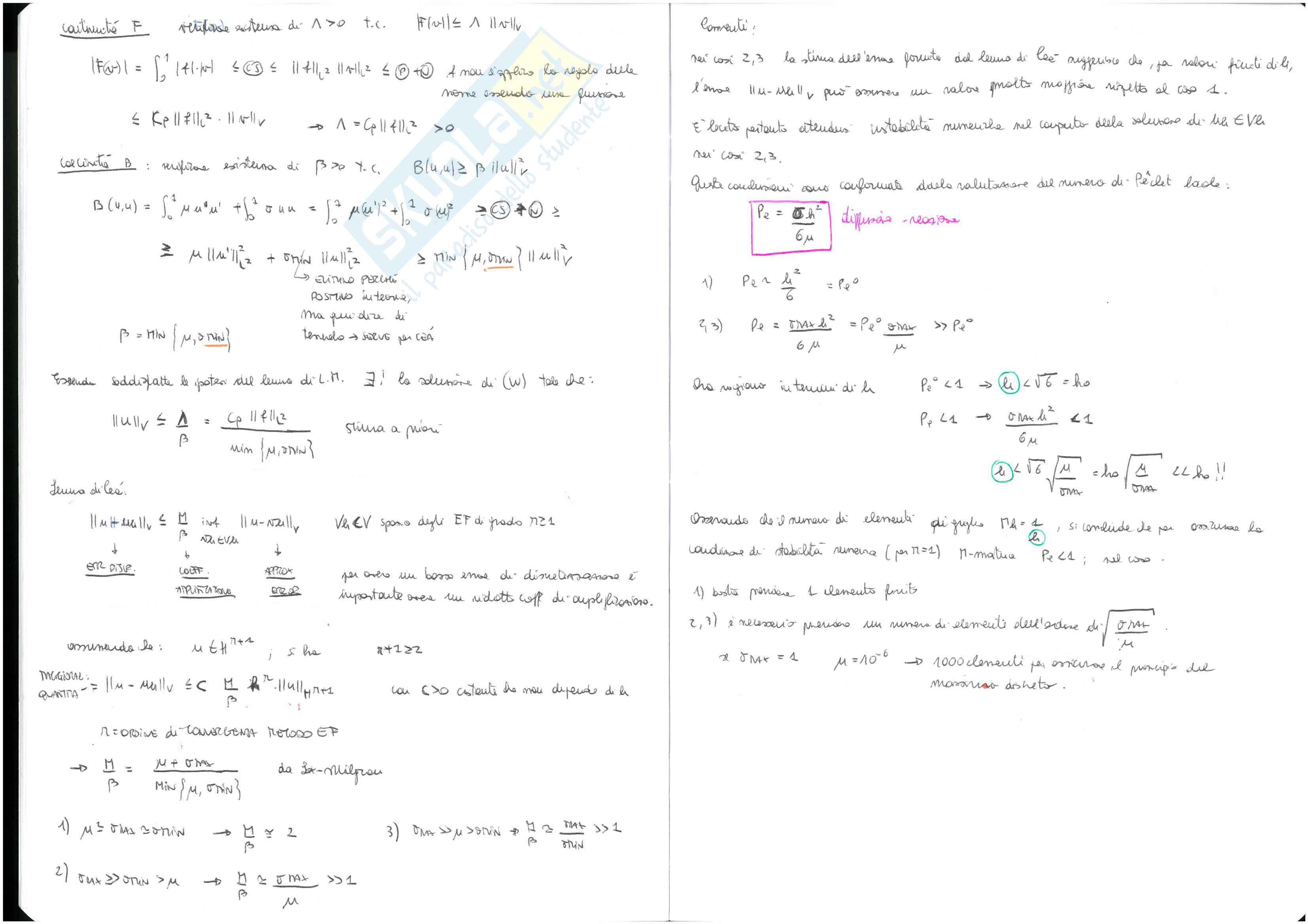 Temi d'esame svolti - Numerical methods for civil engineering Pag. 21