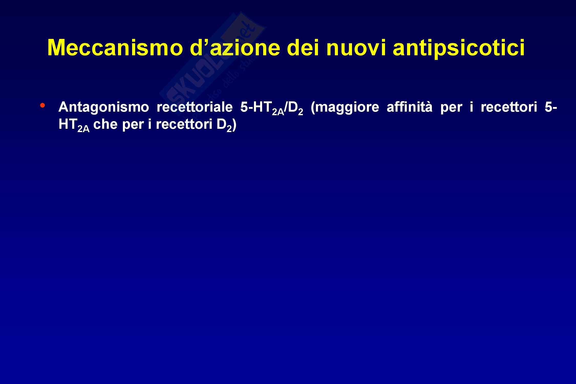 Farmaci antipsicotici Pag. 26