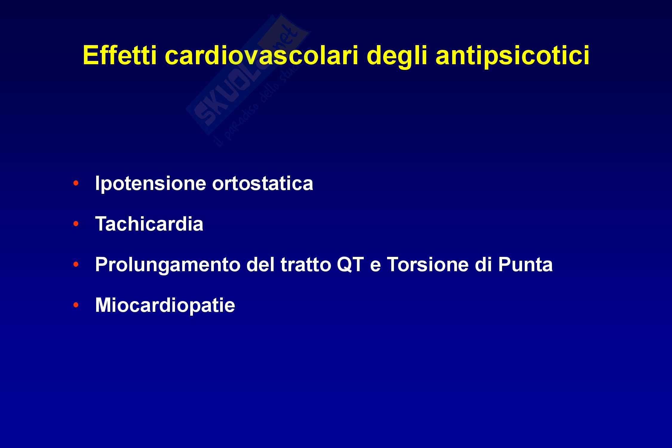 Farmaci antipsicotici Pag. 46