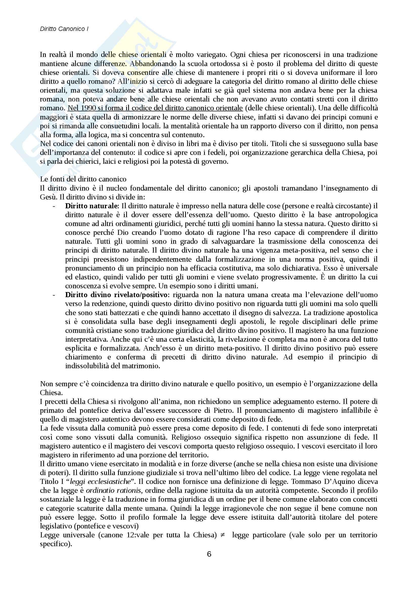 Diritto canonico Pag. 6