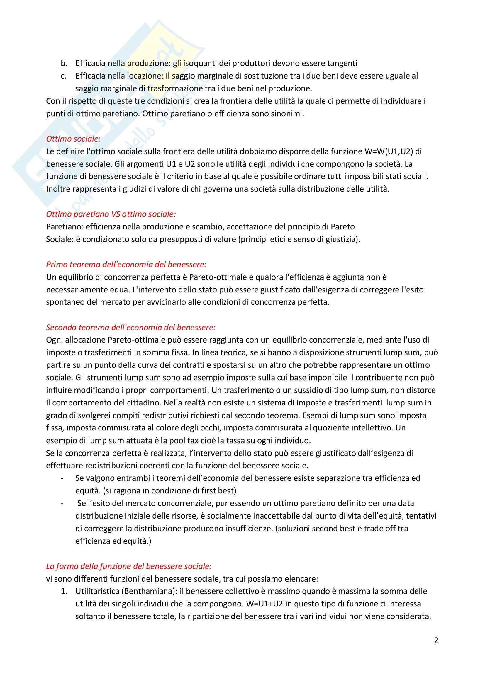Finanza pubblica - Appunti Pag. 2