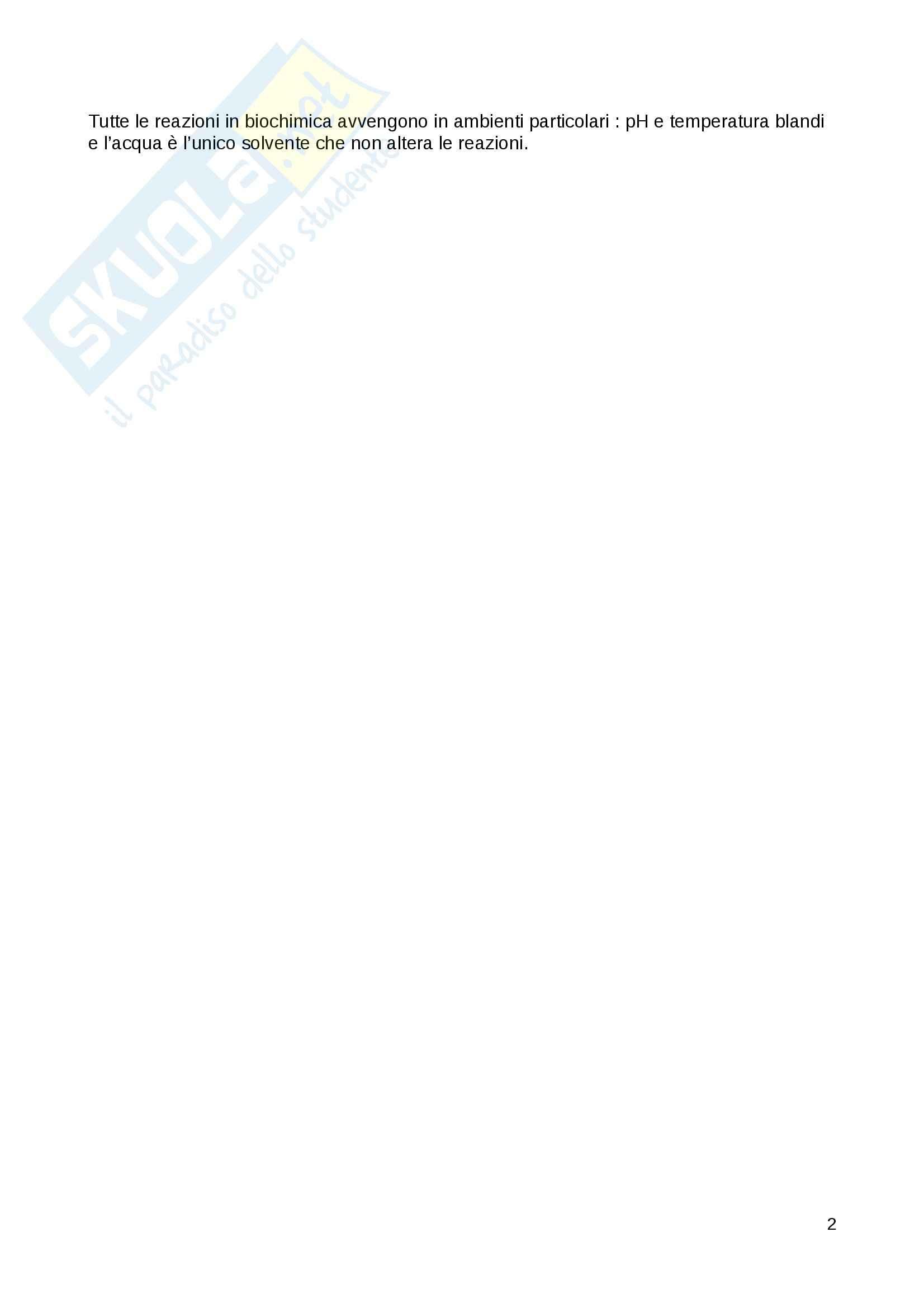 Biochimica generale - Appunti Pag. 2