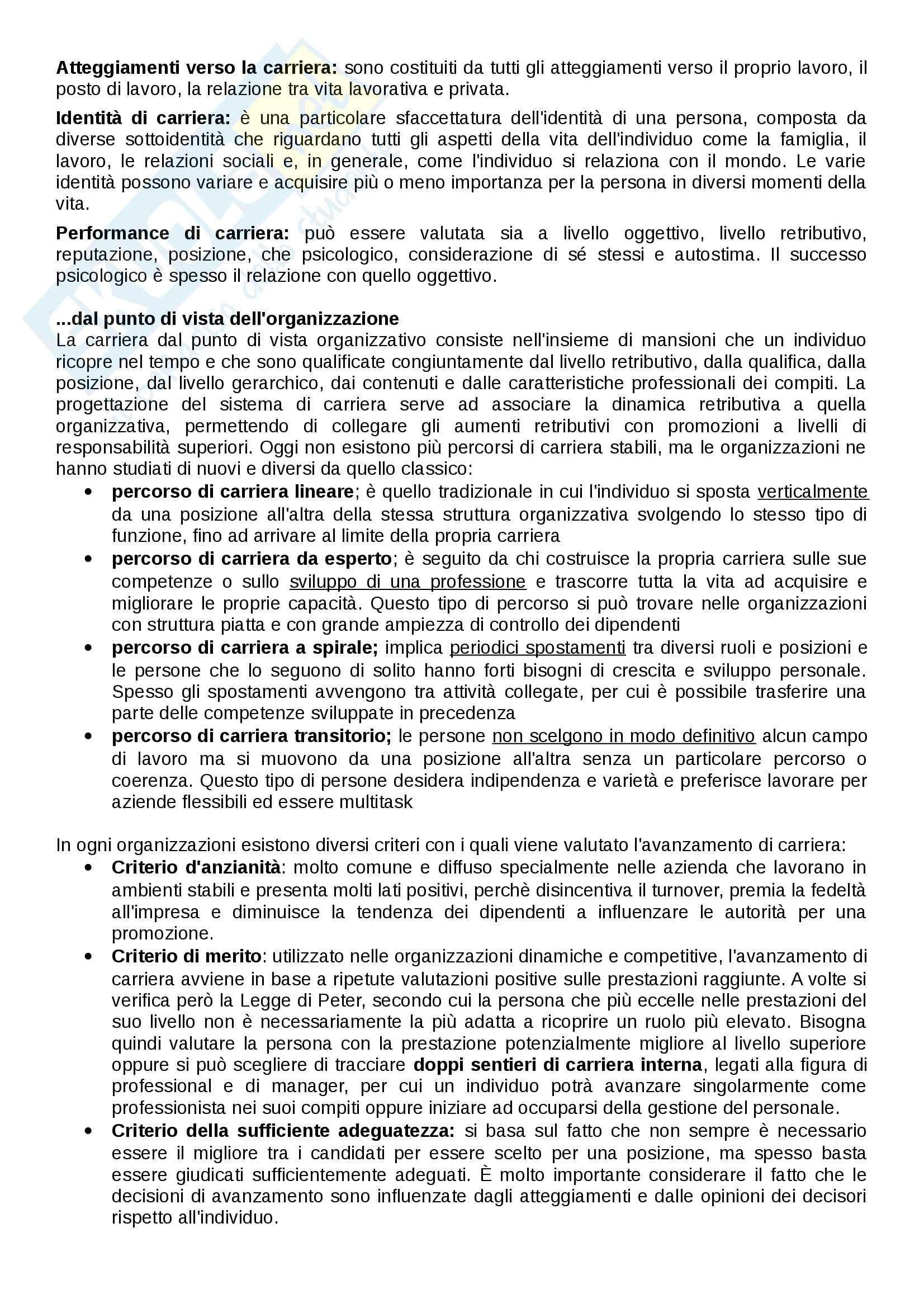 """Riassunto esame organizzazione aziendale, prof. Morandin, libro consigliato """"Comportamento organizzativo"""" di Tosi e Pilati (capitoli 2° parziale) Pag. 31"""