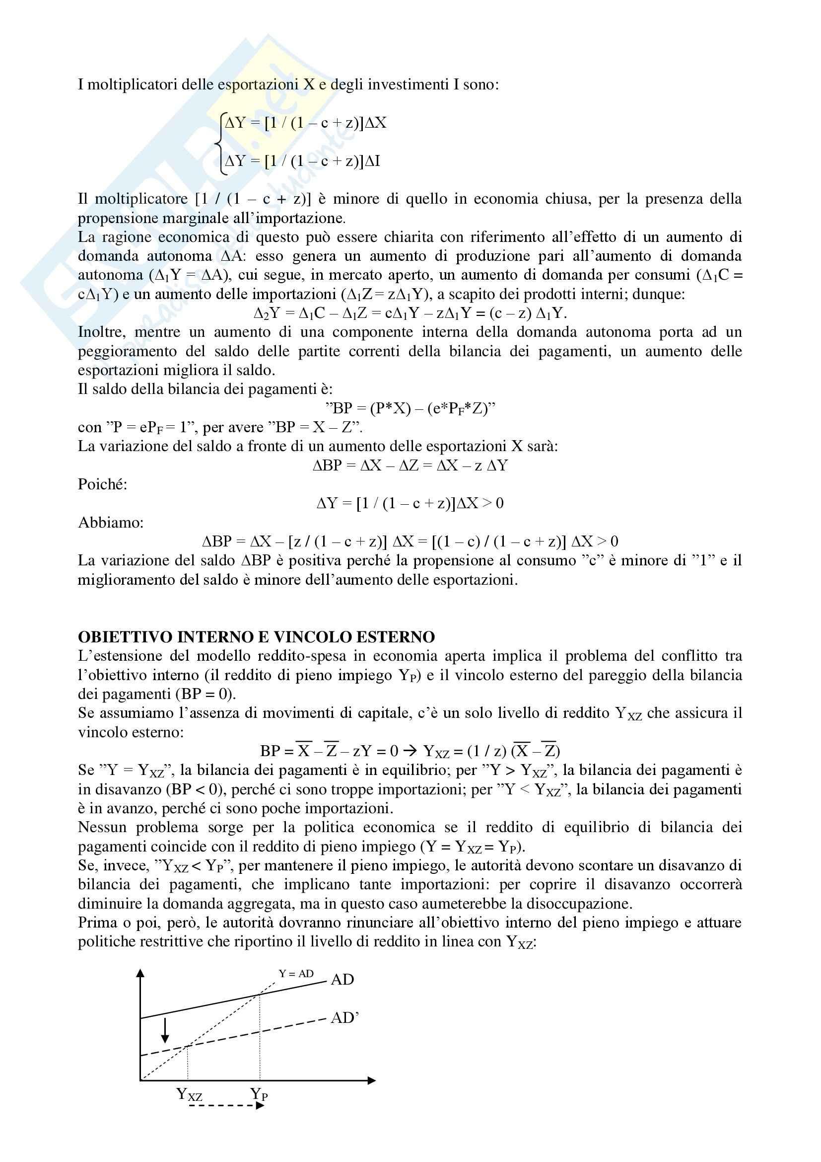 Macroeconomia - Appunti Pag. 31