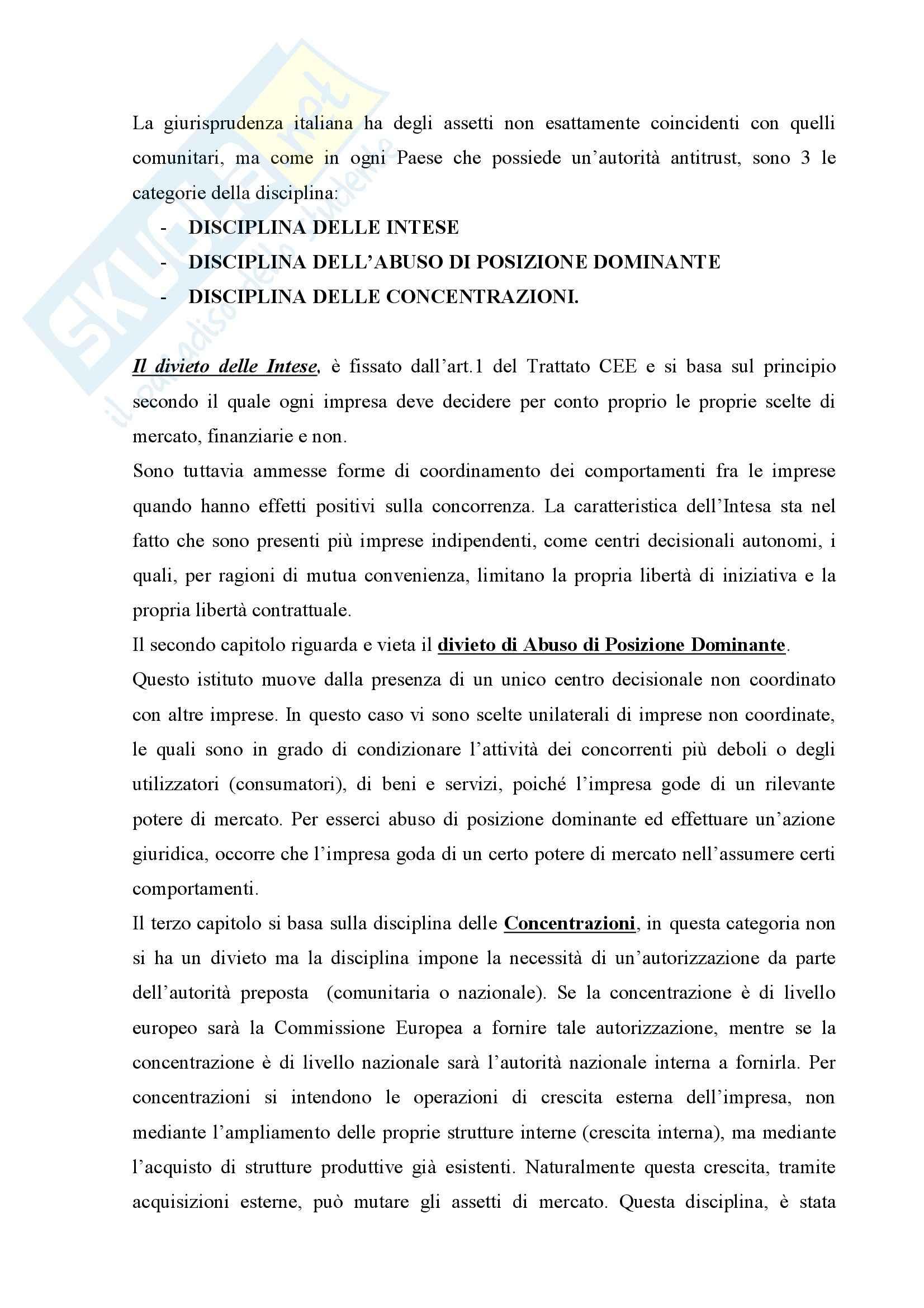 Diritto della concorrenza - Appunti Pag. 11