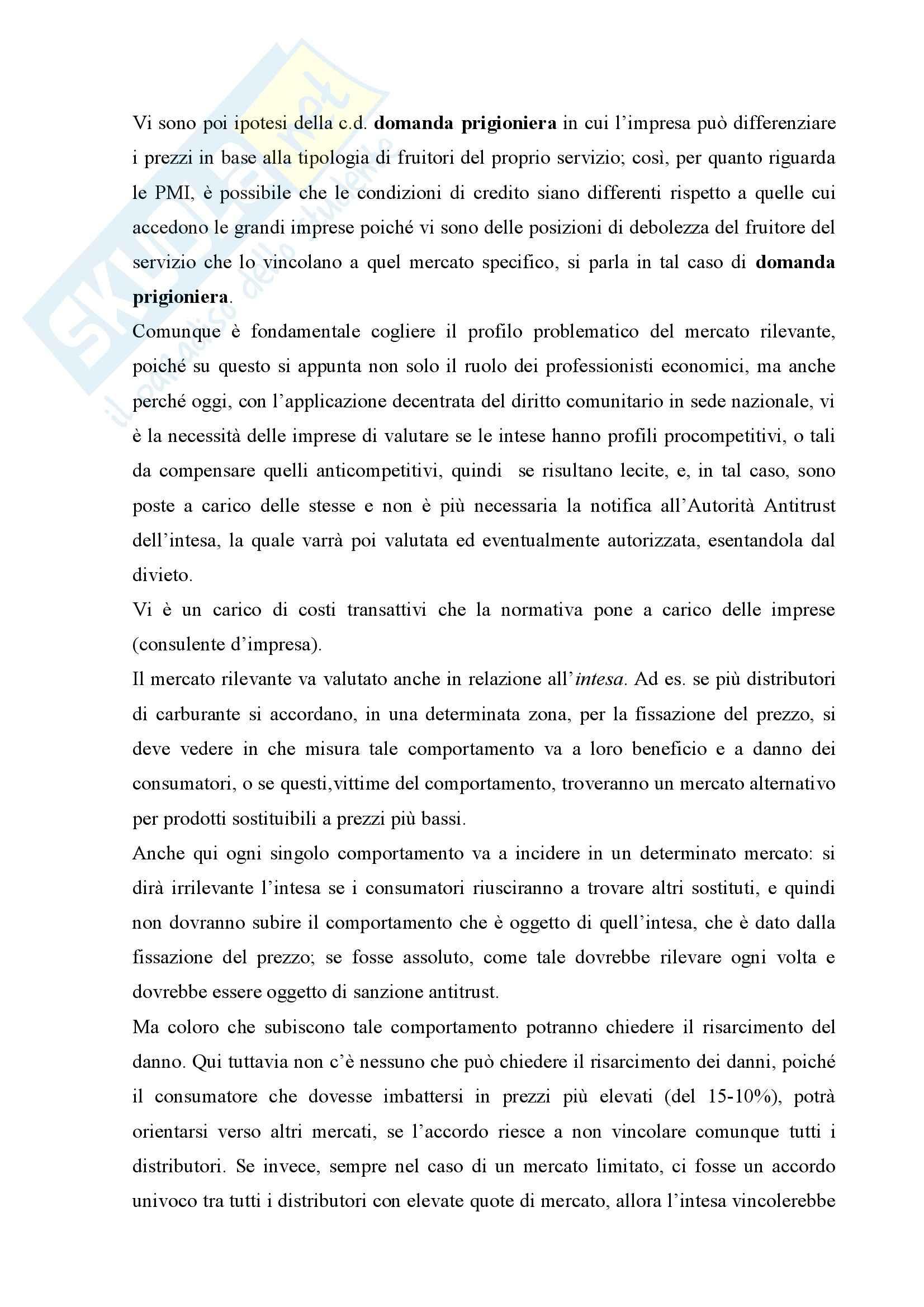 Diritto della concorrenza - Appunti Pag. 36