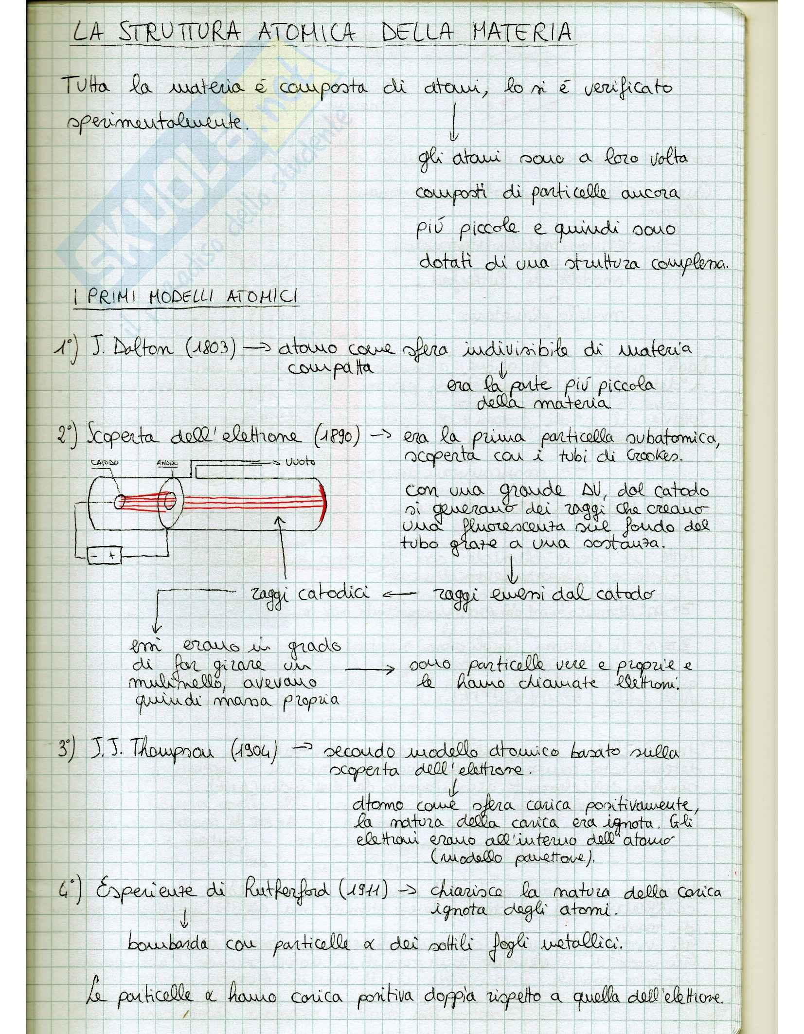 Nozioni e lezioni, Elementi di Chimica