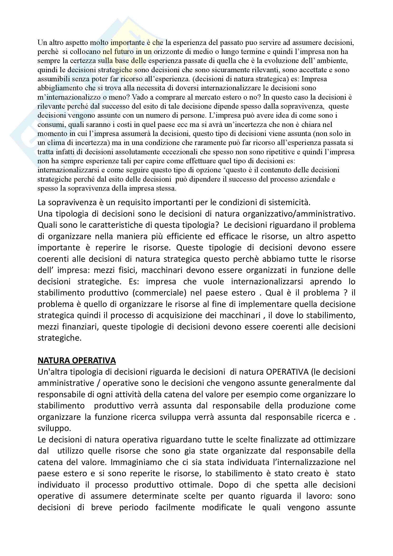 Economia e gestione delle imprese di servizi - Appunti