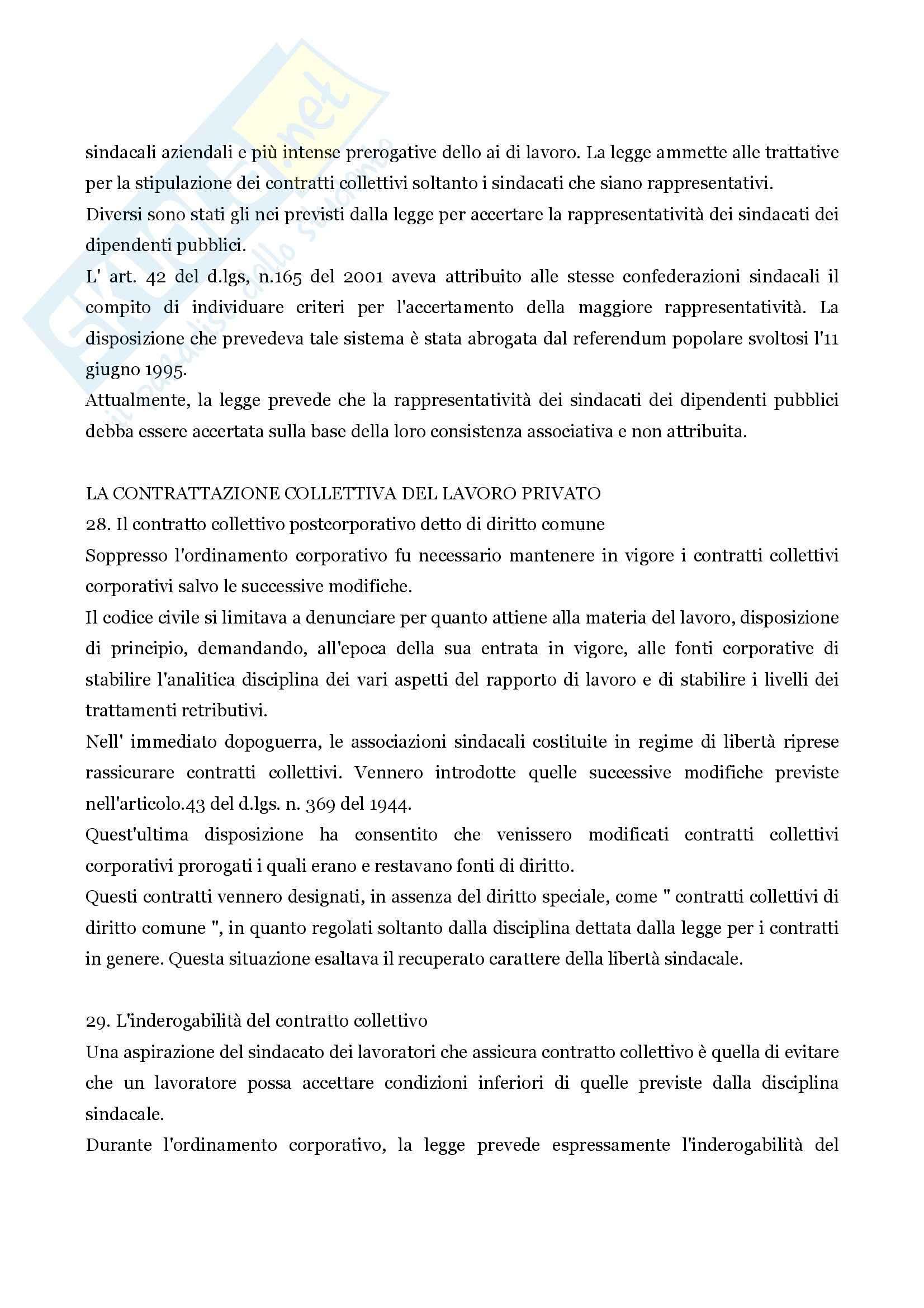 Riassunto esame Diritto commerciale, prof. Santosuosso, libro consigliato Diritto commerciale, Persiani Pag. 21