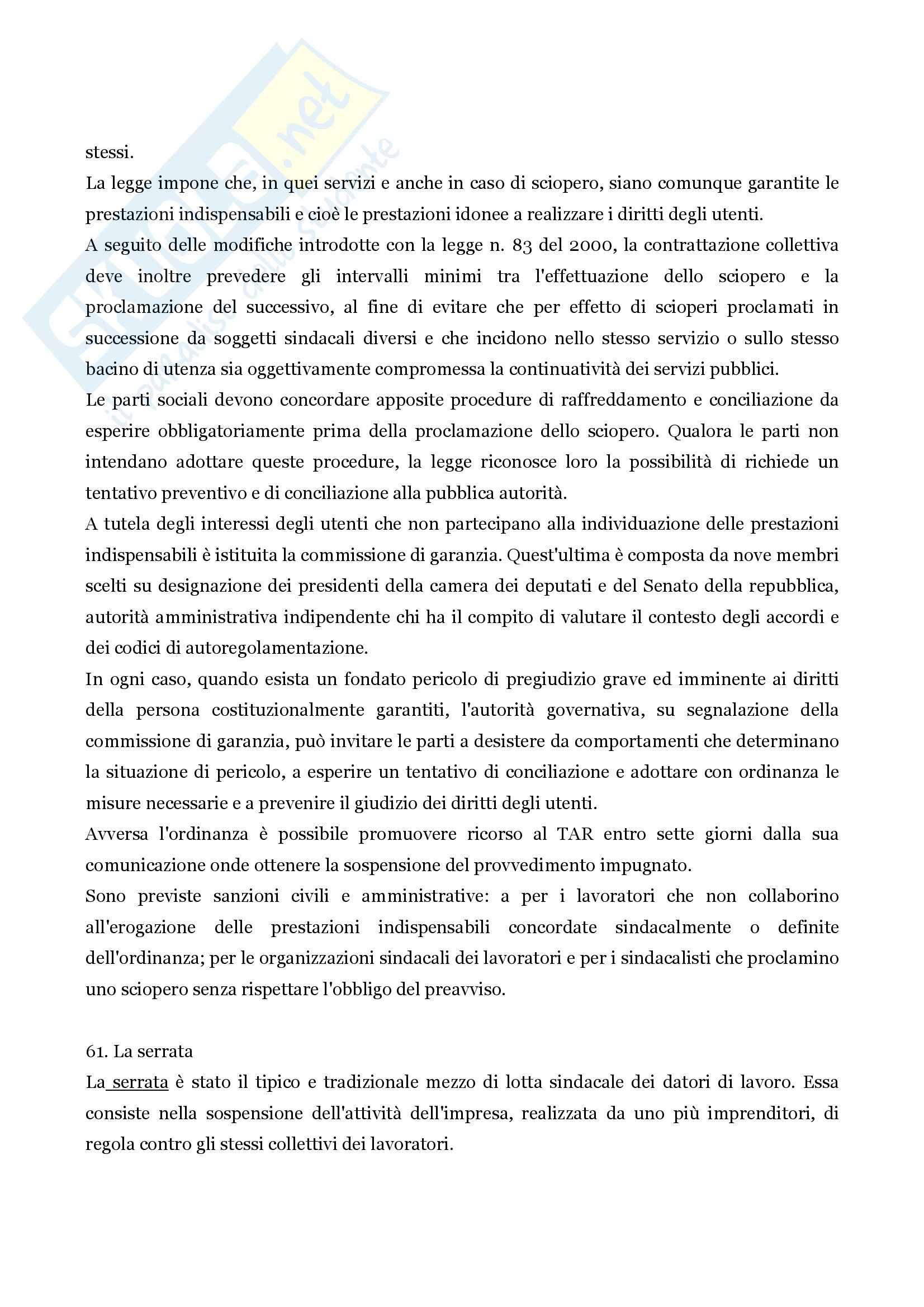 Riassunto esame Diritto commerciale, prof. Santosuosso, libro consigliato Diritto commerciale, Persiani Pag. 41