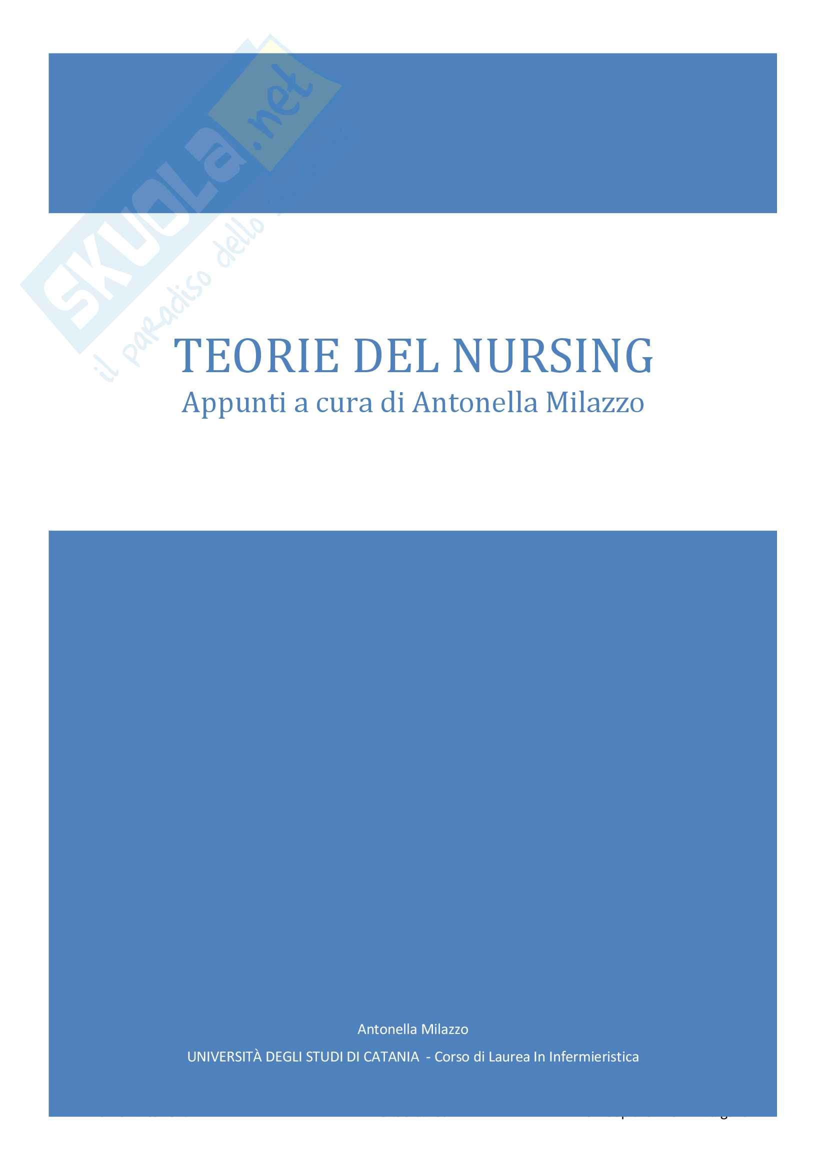Teorie del Nursing