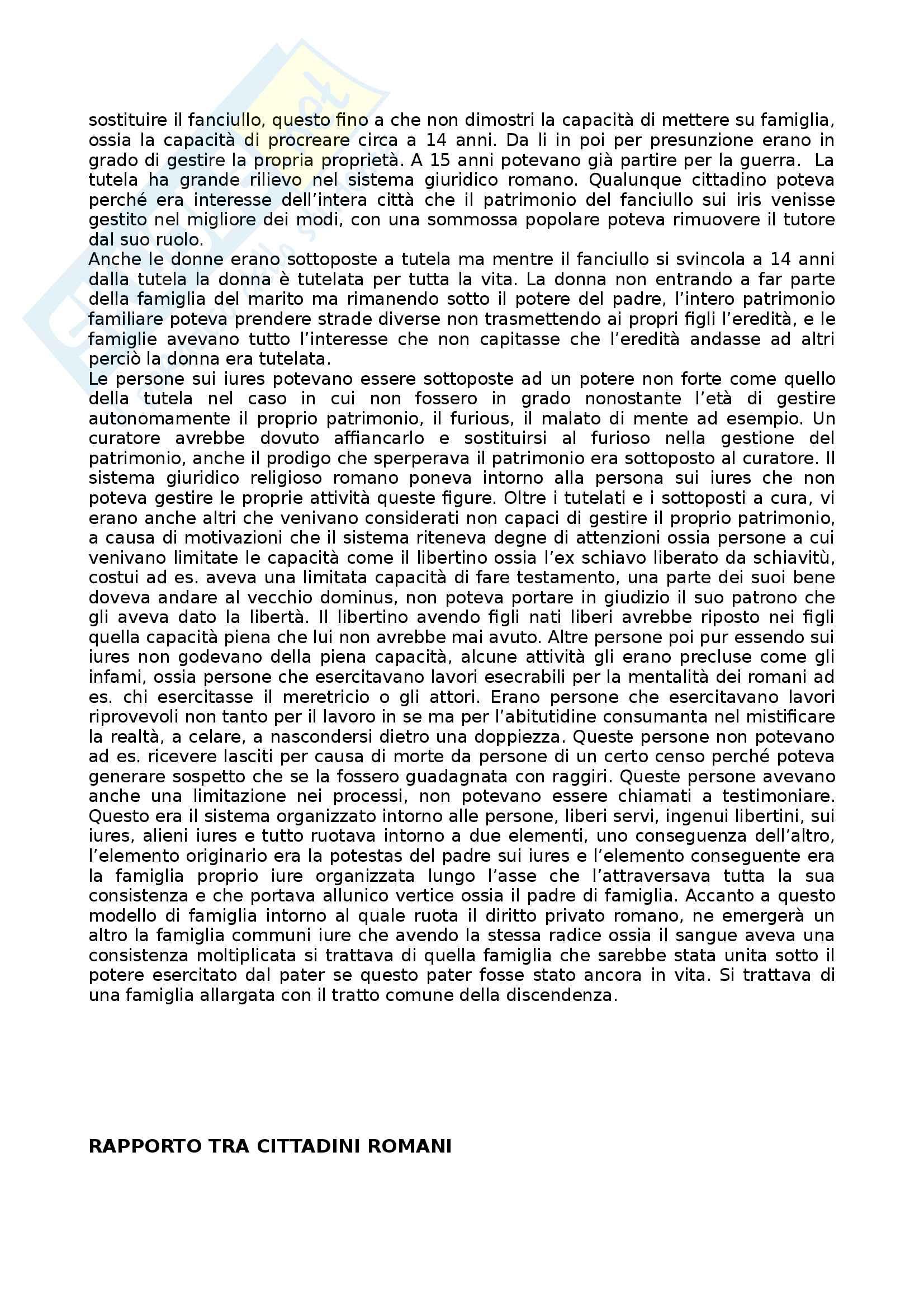 Appunti lezioni video Diritto romano Pag. 16