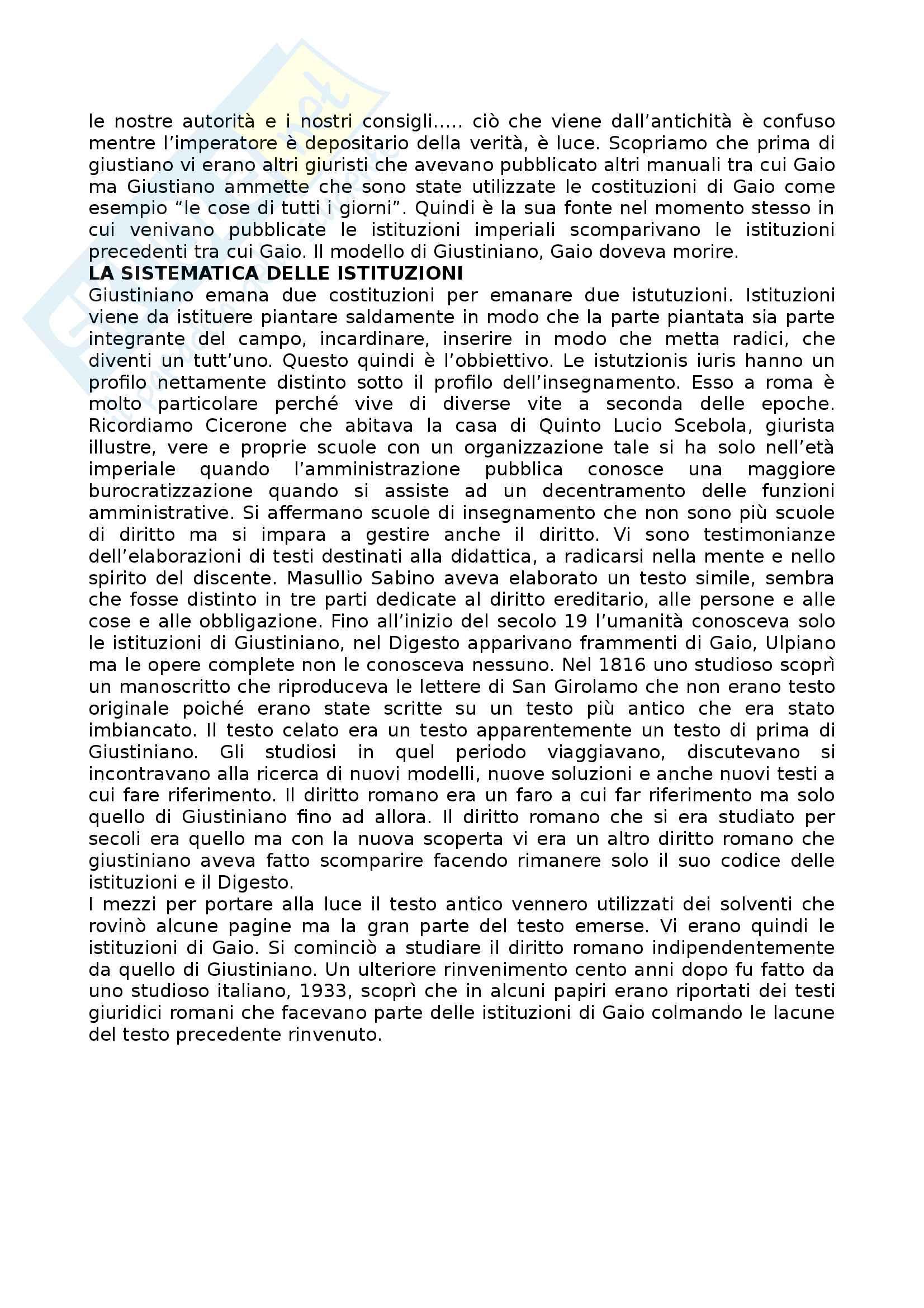 Appunti lezioni video Diritto romano Pag. 2