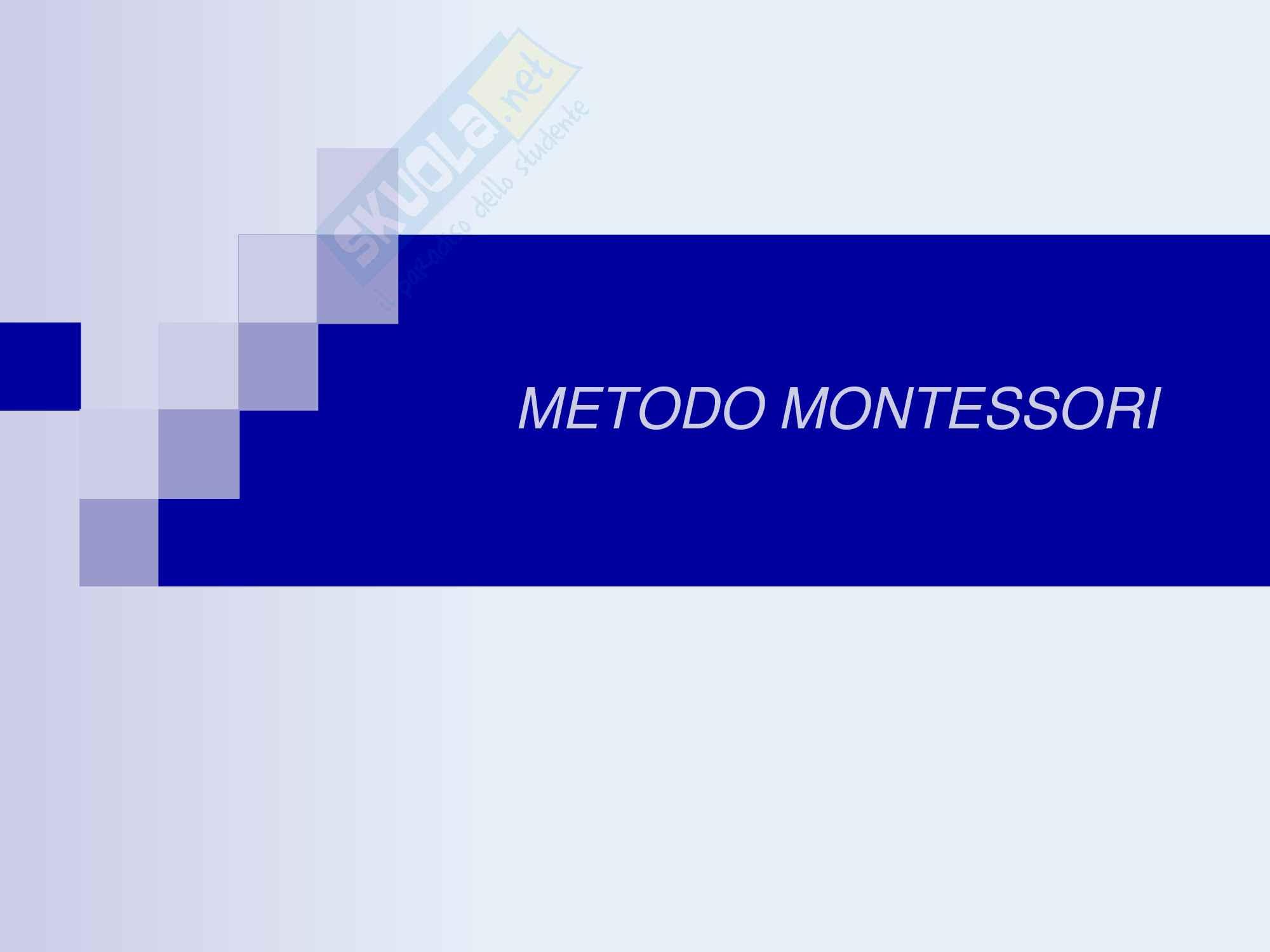 Metodo montessoriano, Maria Montessori