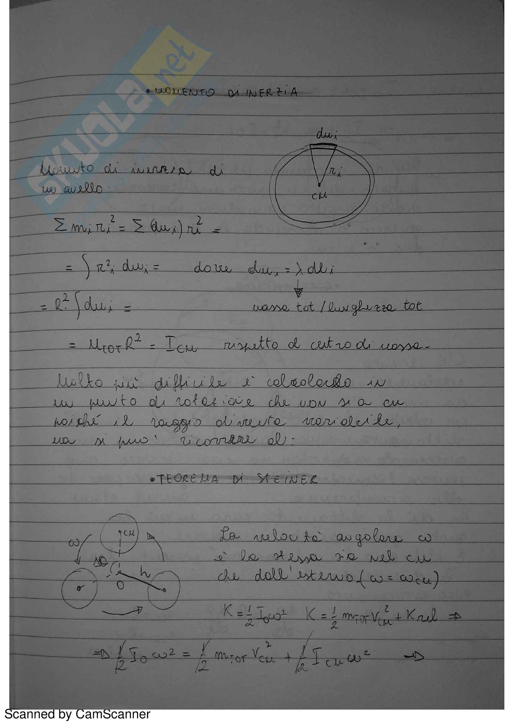 Quaderno di Fisica 1 Pag. 51
